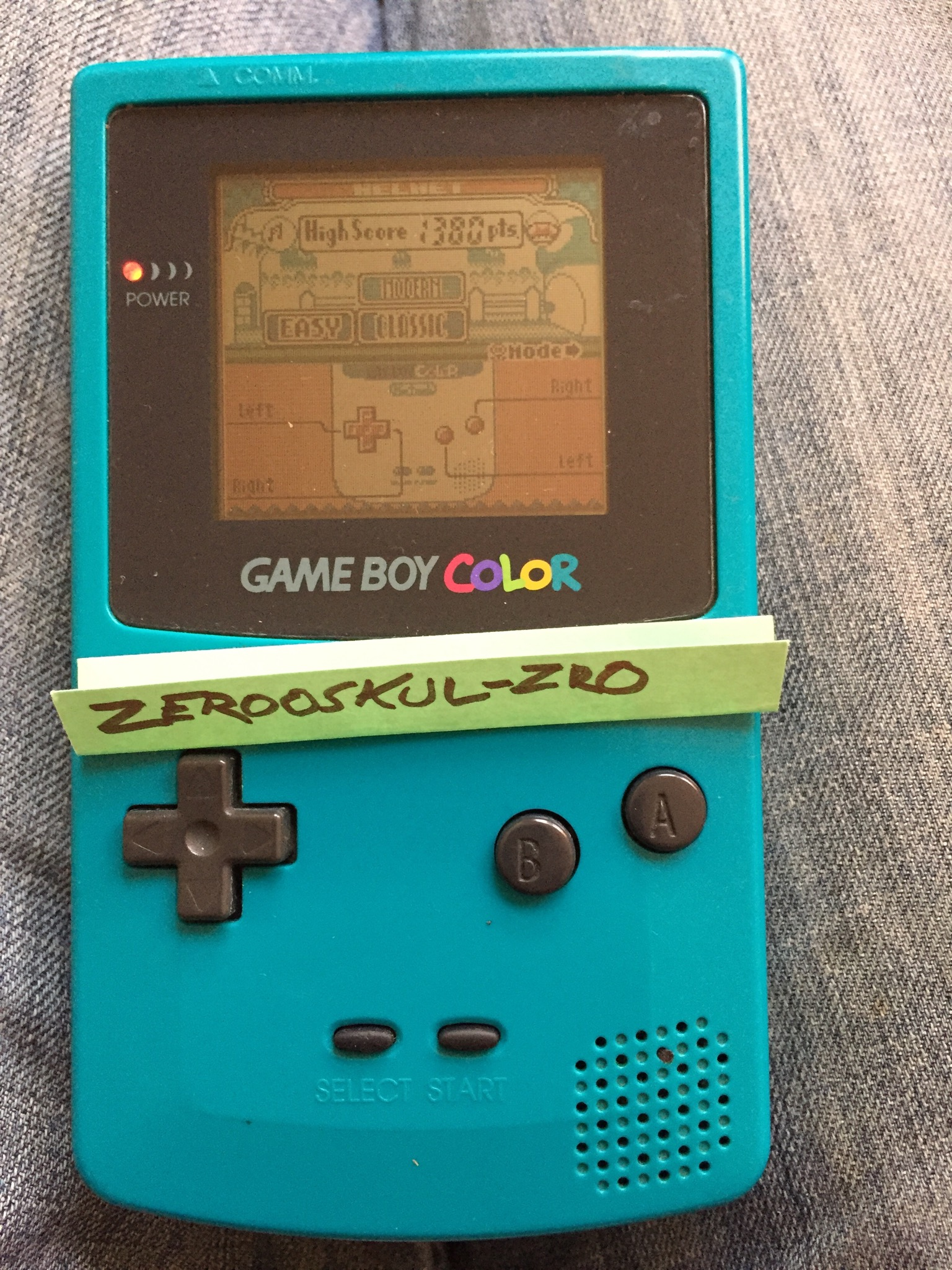 zerooskul: Game & Watch Gallery 2: Helmet: Classic: Easy (Game Boy Color) 1,380 points on 2018-06-29 11:43:49