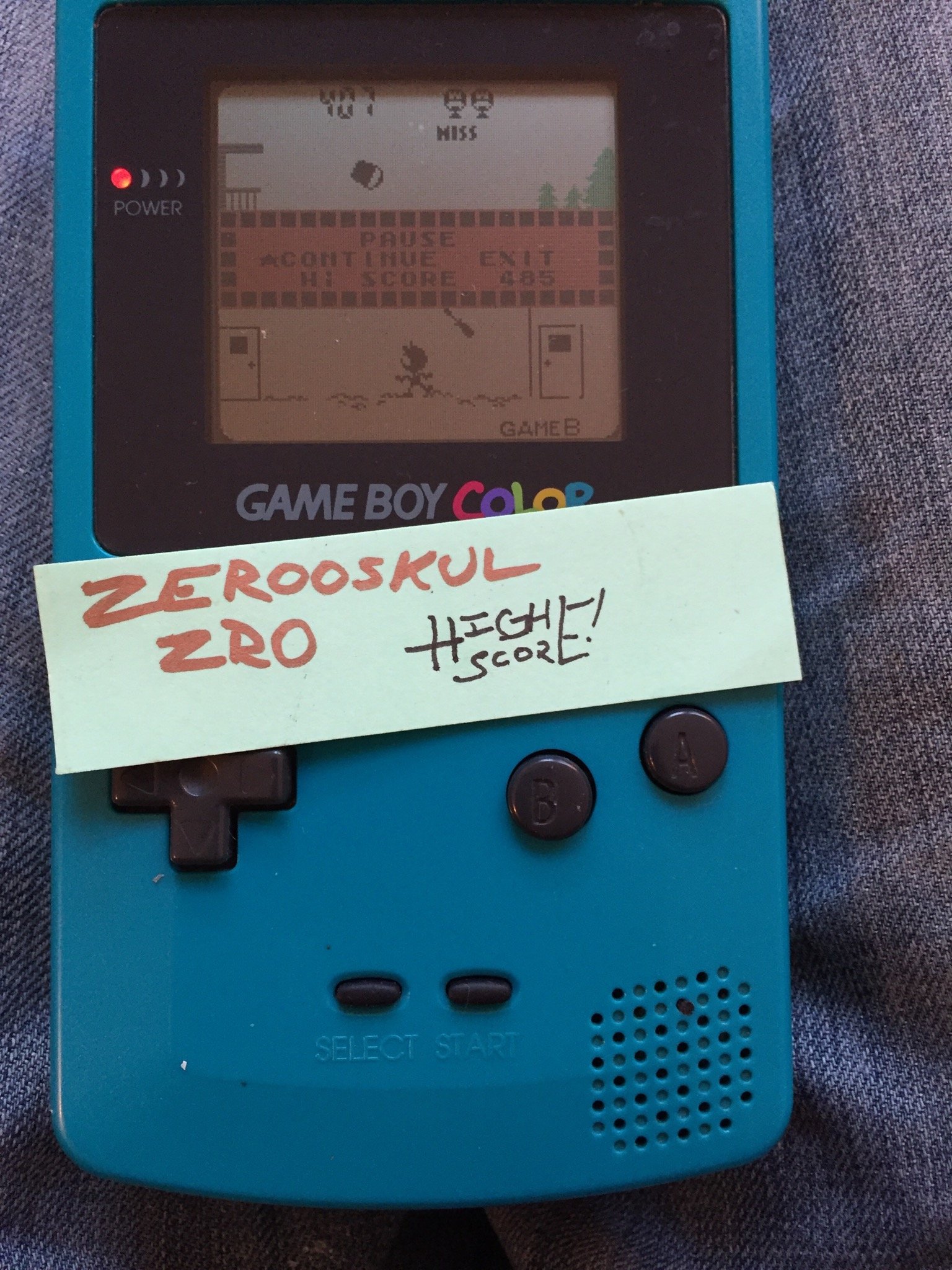 Game & Watch Gallery 2: Helmet: Classic: Hard 817 points