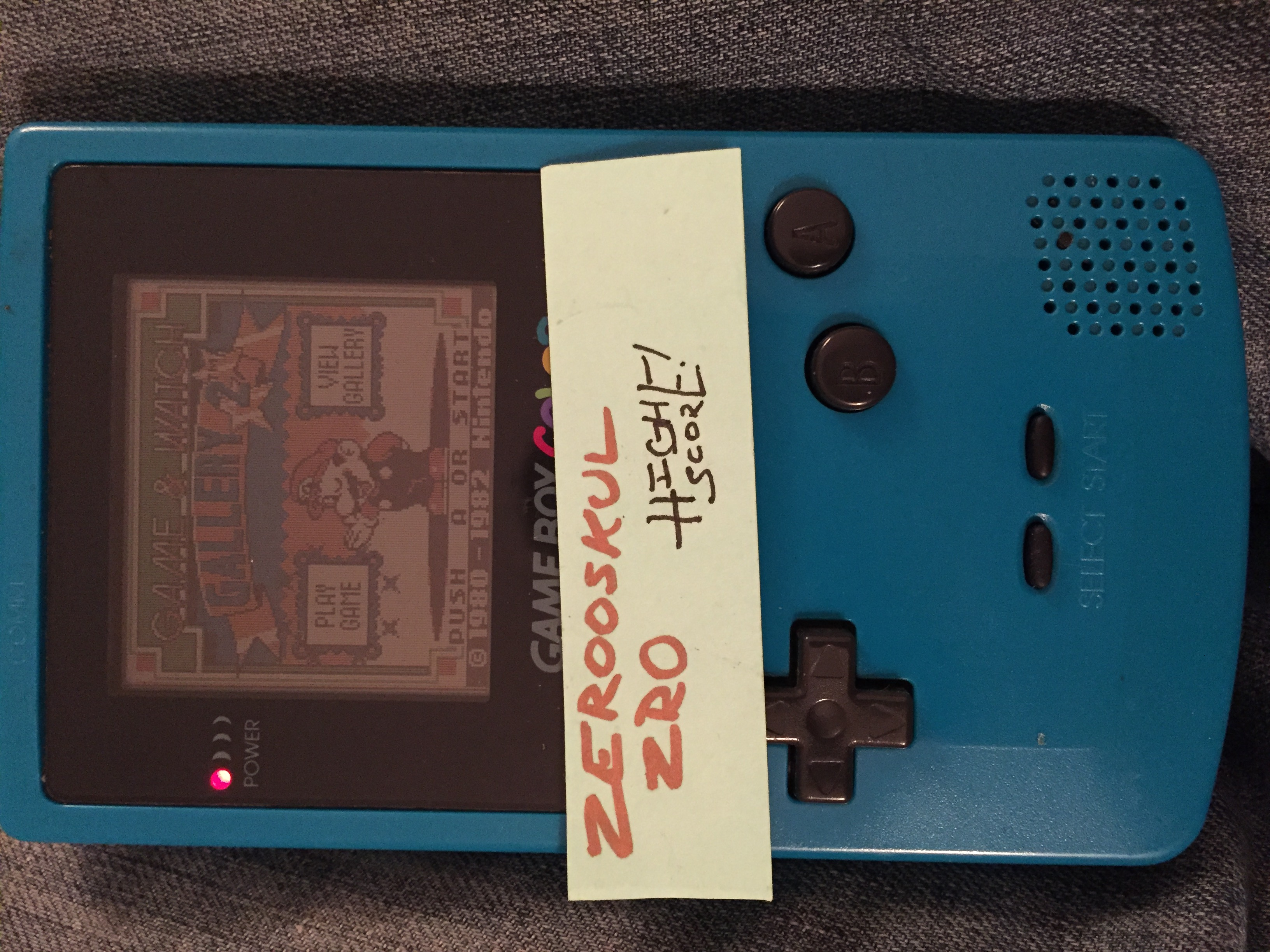 zerooskul: Game & Watch Gallery 2: Helmet: Modern: Easy (Game Boy Color) 1,050 points on 2018-06-29 22:06:53