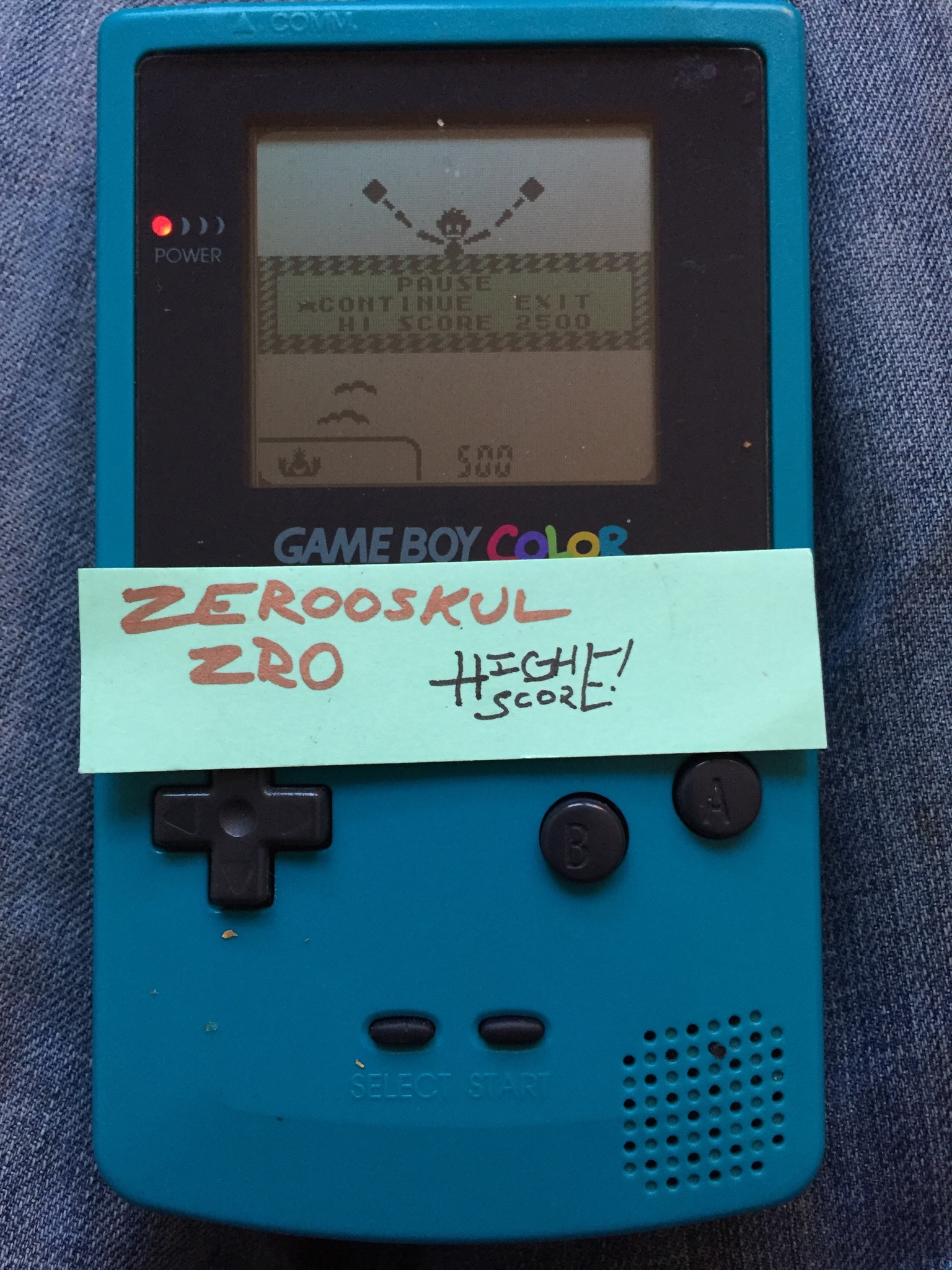 zerooskul: Game & Watch Gallery 2: Vermin: Classic: Easy (Game Boy Color) 2,905 points on 2018-06-30 17:31:05