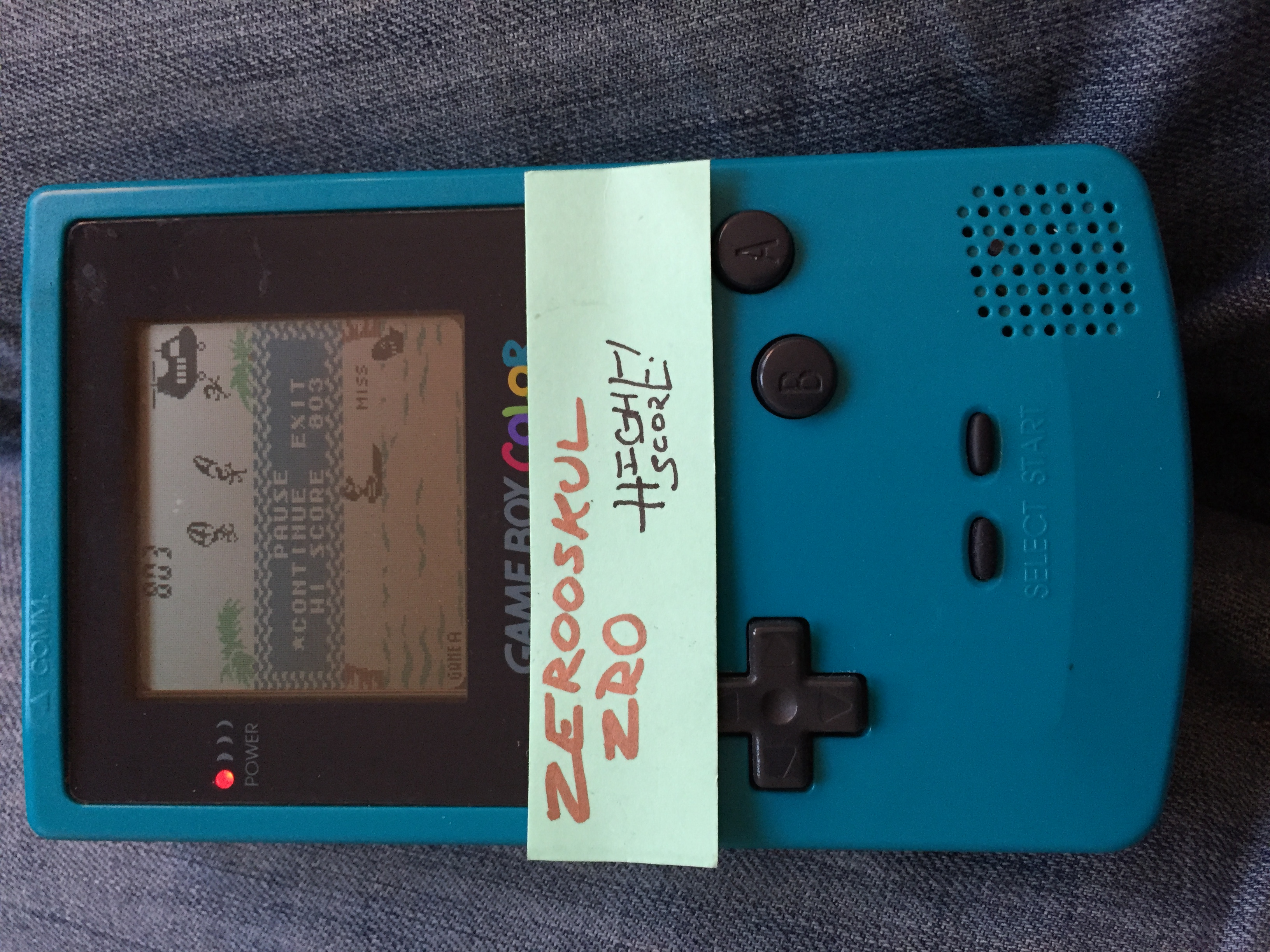 zerooskul: Game & Watch Gallery 2: Parachute: Classic: Easy (Game Boy Color) 855 points on 2018-06-30 18:55:54