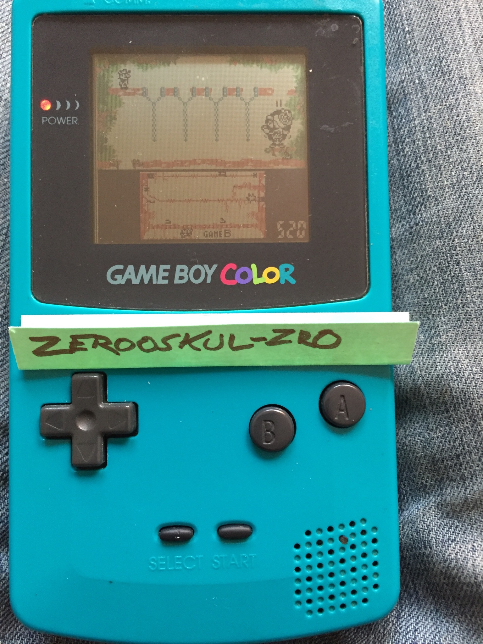 zerooskul: Game & Watch Gallery 2: Donkey Kong II [Classic: Hard] (Game Boy Color) 563 points on 2018-07-01 16:21:14