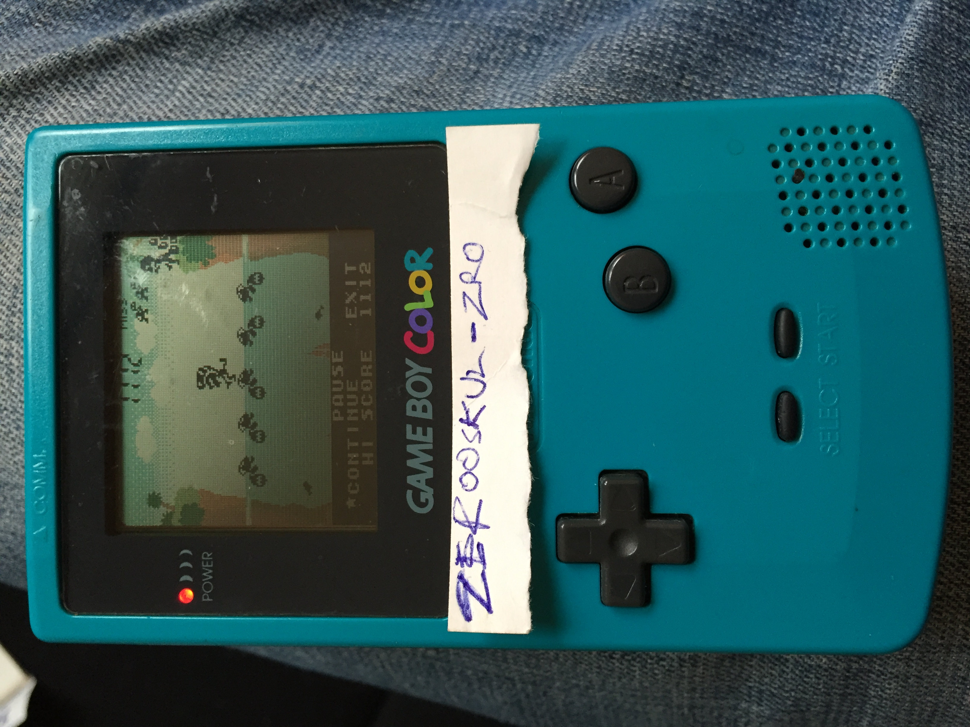 zerooskul: Game & Watch Gallery 3: Turtle Bridge: Classic: Easy (Game Boy Color) 1,320 points on 2018-07-21 13:34:44