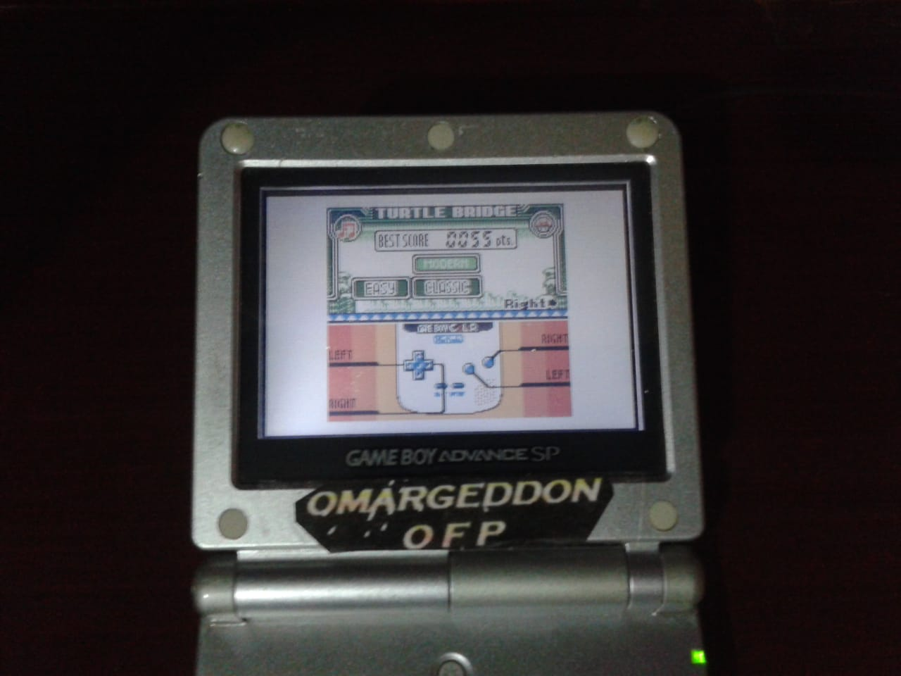 omargeddon: Game & Watch Gallery 3: Turtle Bridge: Classic: Easy (Game Boy Color) 55 points on 2018-07-23 12:01:13