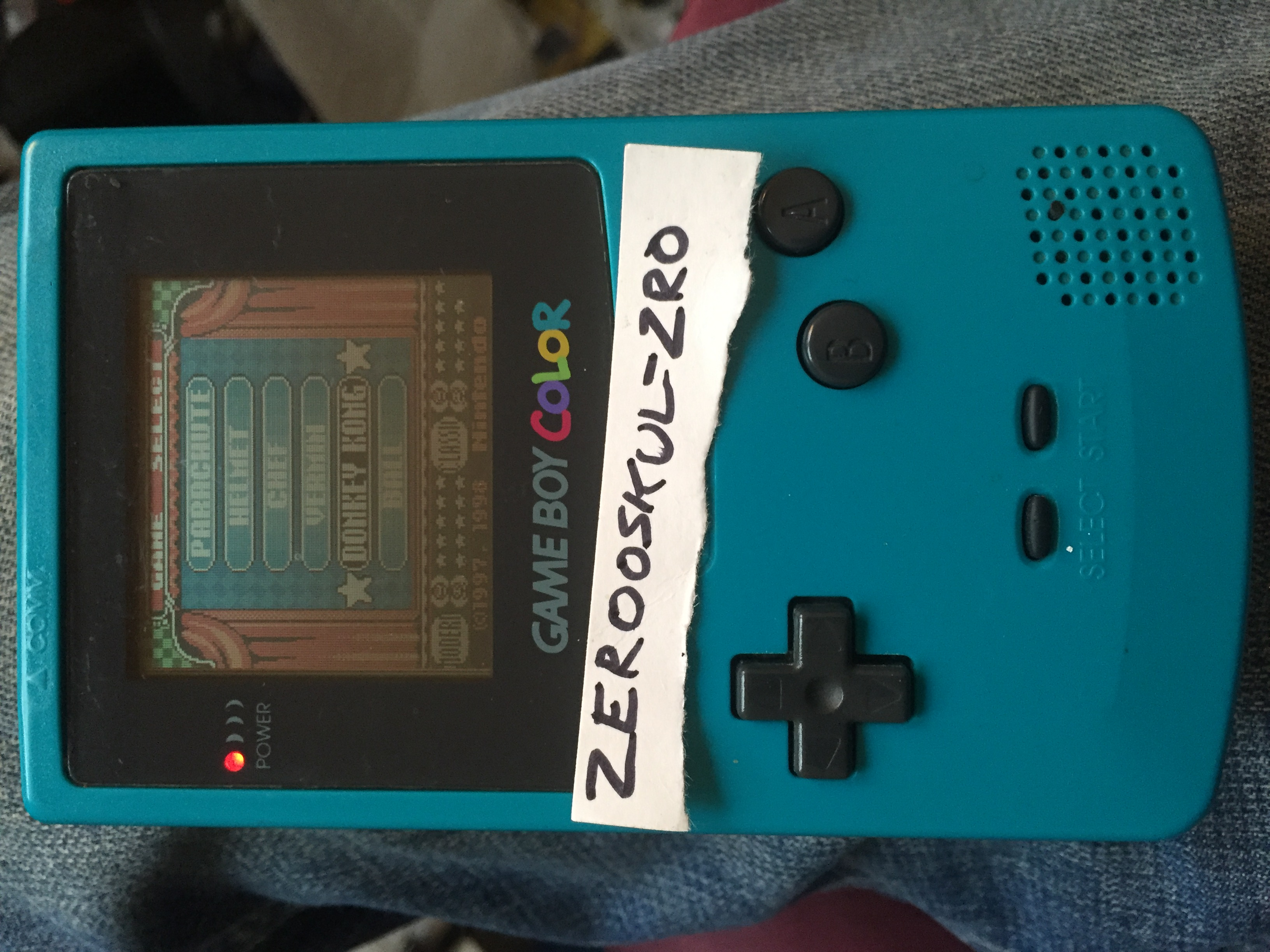 zerooskul: Game & Watch Gallery 2: Donkey Kong: Classic: Easy (Game Boy Color) 1,597 points on 2018-07-25 00:39:54
