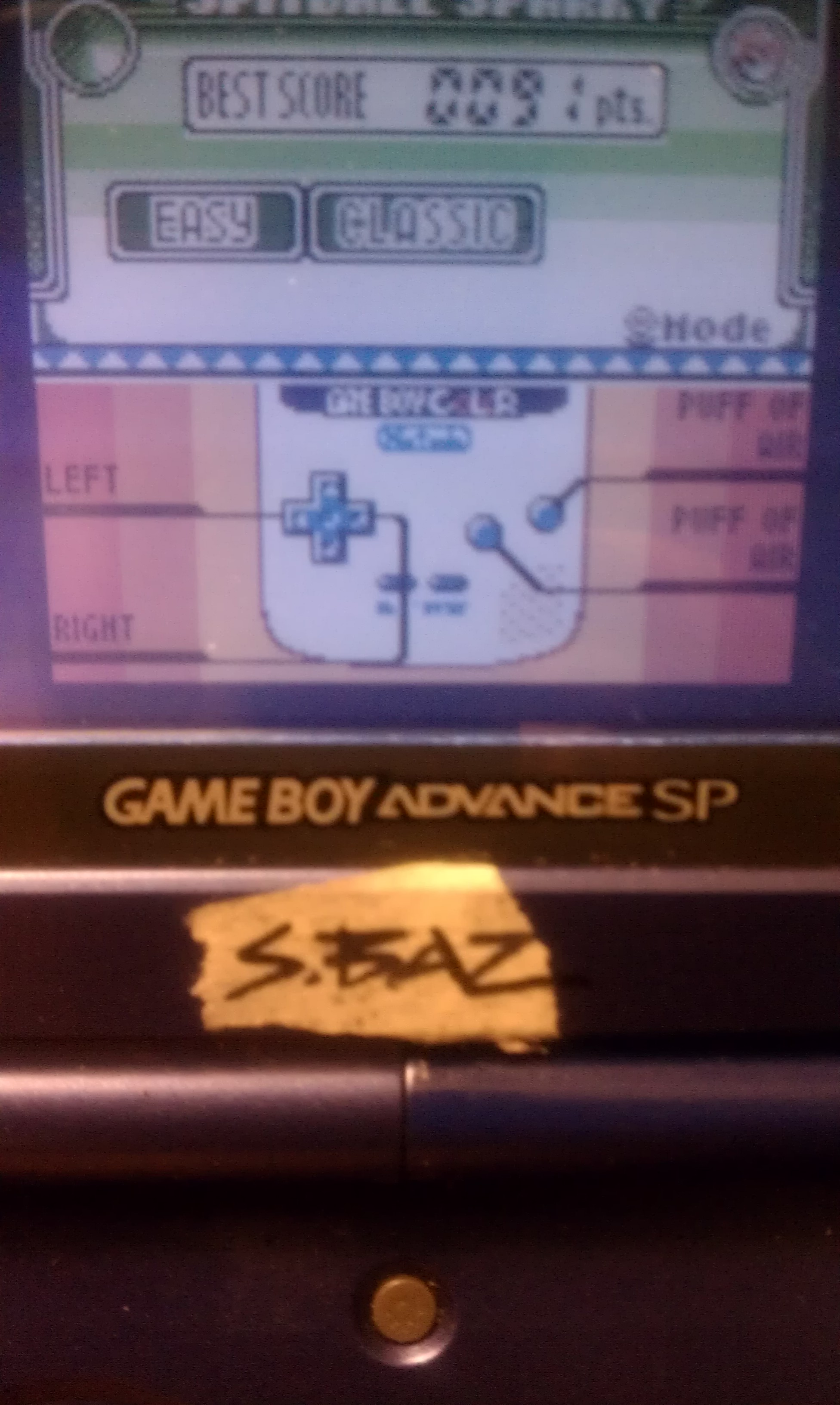 S.BAZ: Game & Watch Gallery 3: Spitball Sparky [Classic: Easy] (Game Boy Color) 91 points on 2018-08-24 14:53:12
