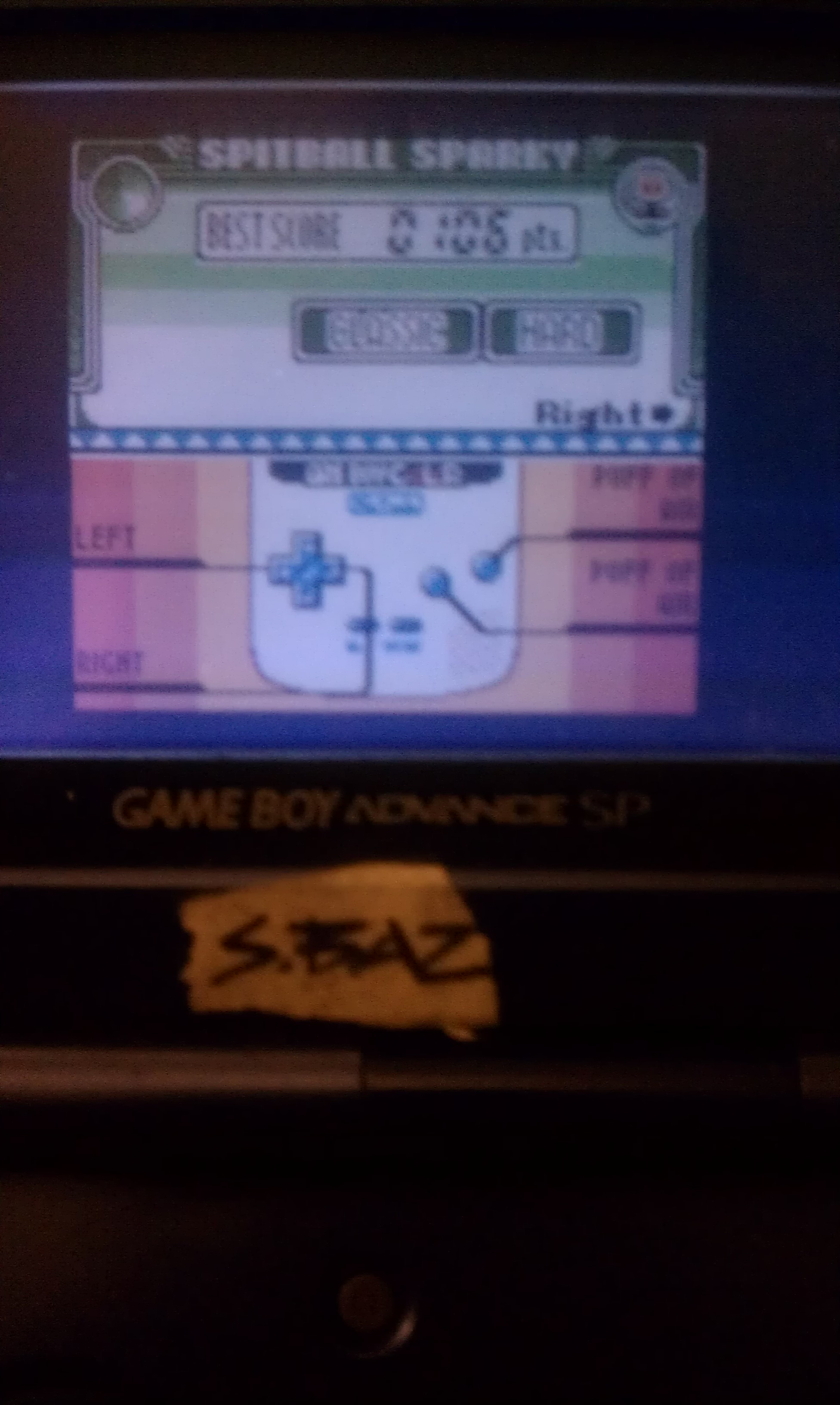 S.BAZ: Game & Watch Gallery 3: Spitball Sparky [Classic: Hard] (Game Boy Color) 106 points on 2018-08-24 14:55:07