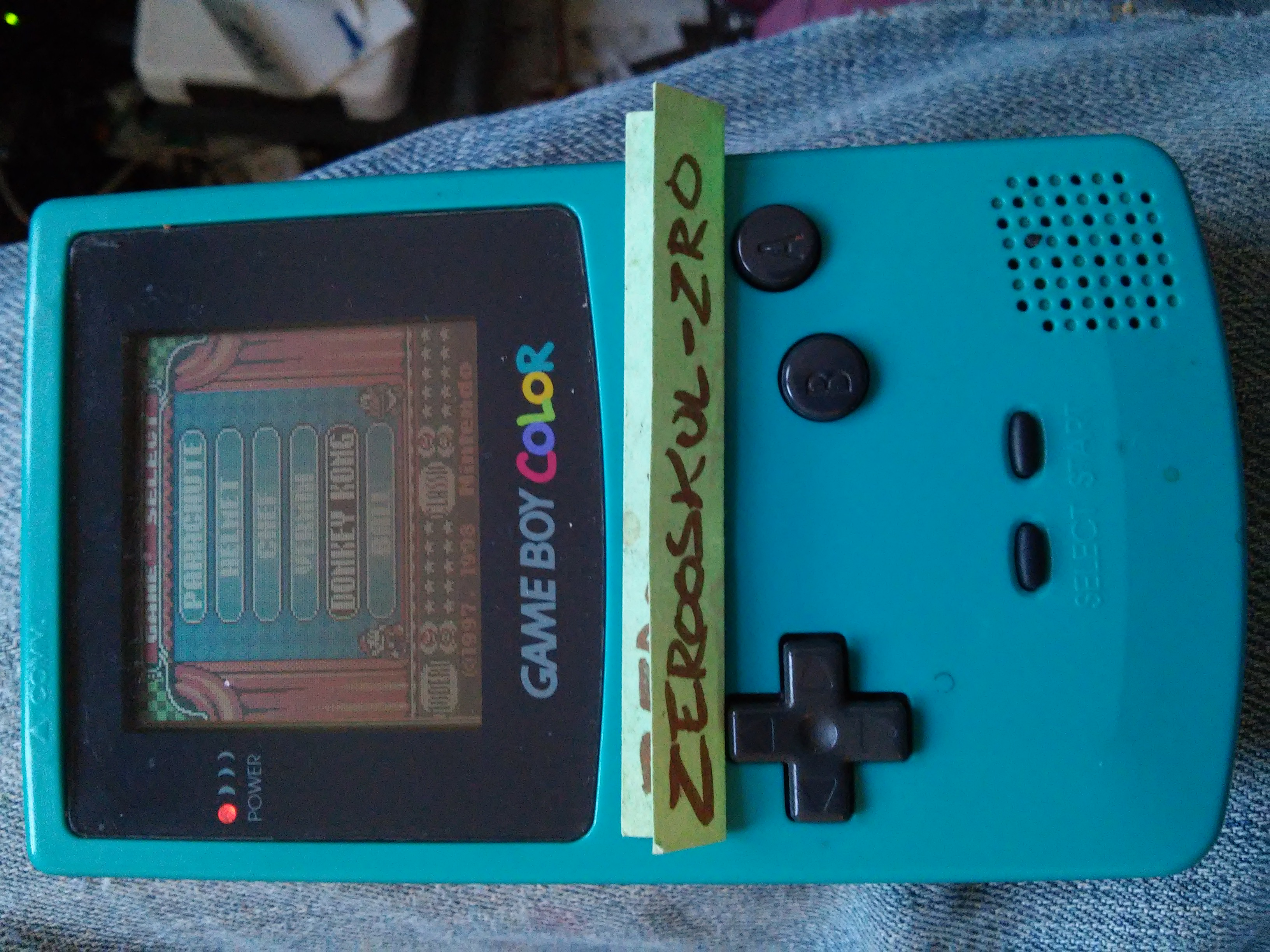 zerooskul: Game & Watch Gallery 2: Donkey Kong [Modern: Very Hard] (Game Boy Color) 2,165 points on 2018-09-19 15:19:05