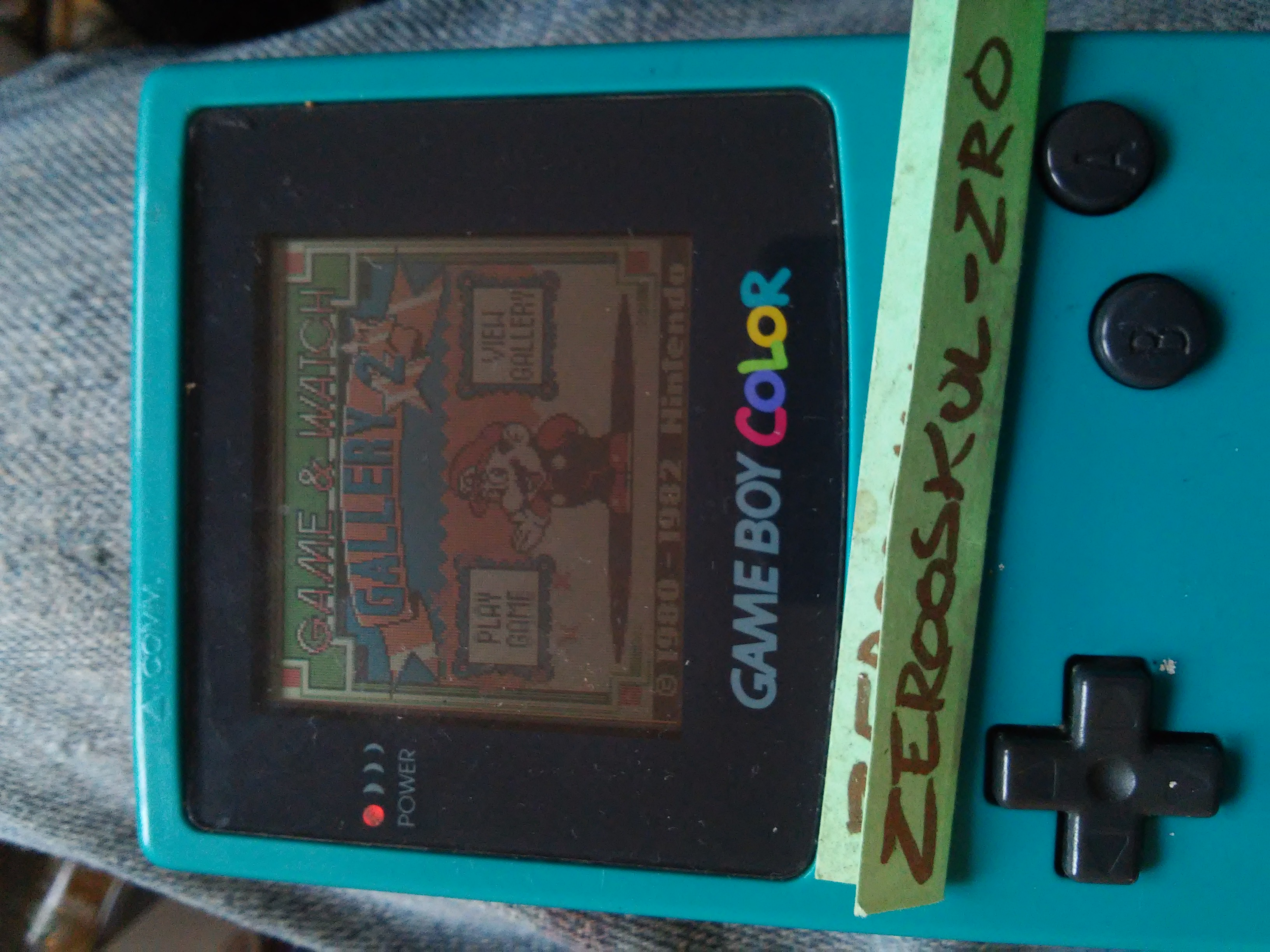 Game & Watch Gallery 2: Donkey Kong: Modern: Easy 2,342 points