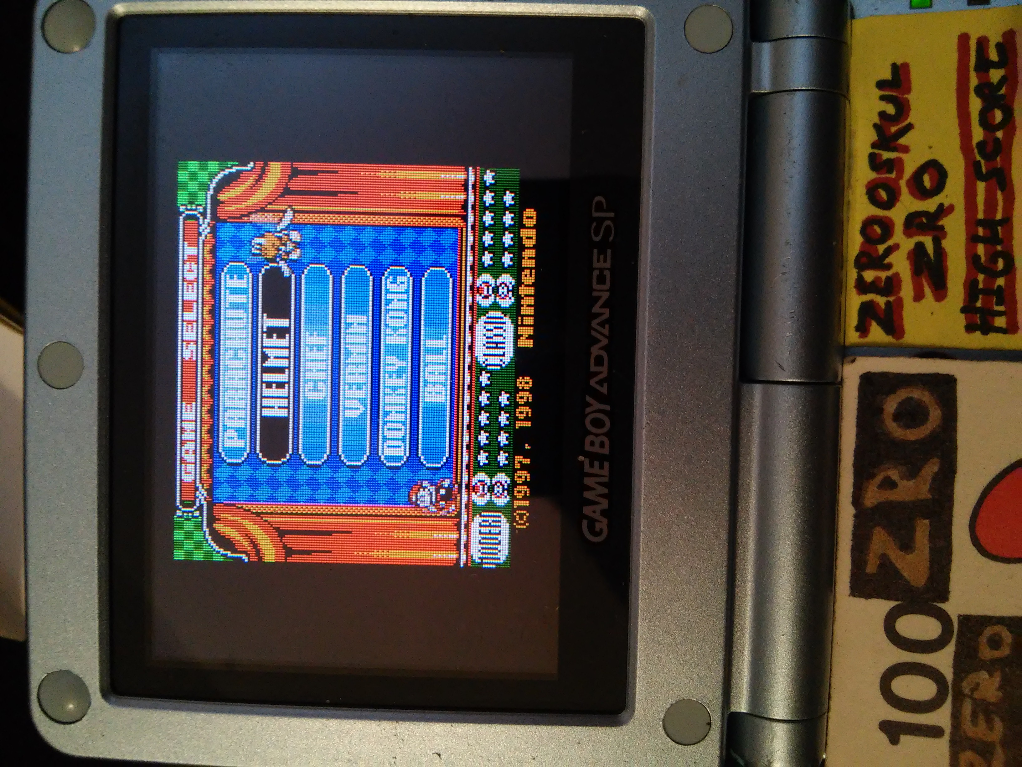 Game & Watch Gallery 2: Helmet: Classic: Hard 874 points