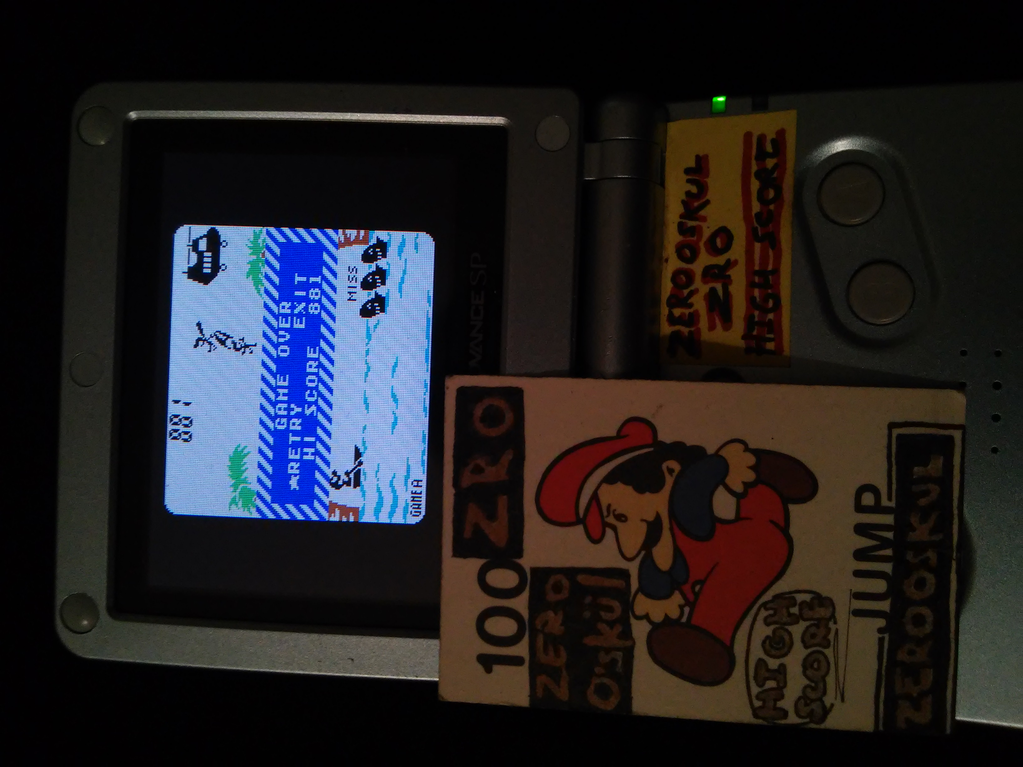 Game & Watch Gallery 2: Parachute: Classic: Easy 881 points