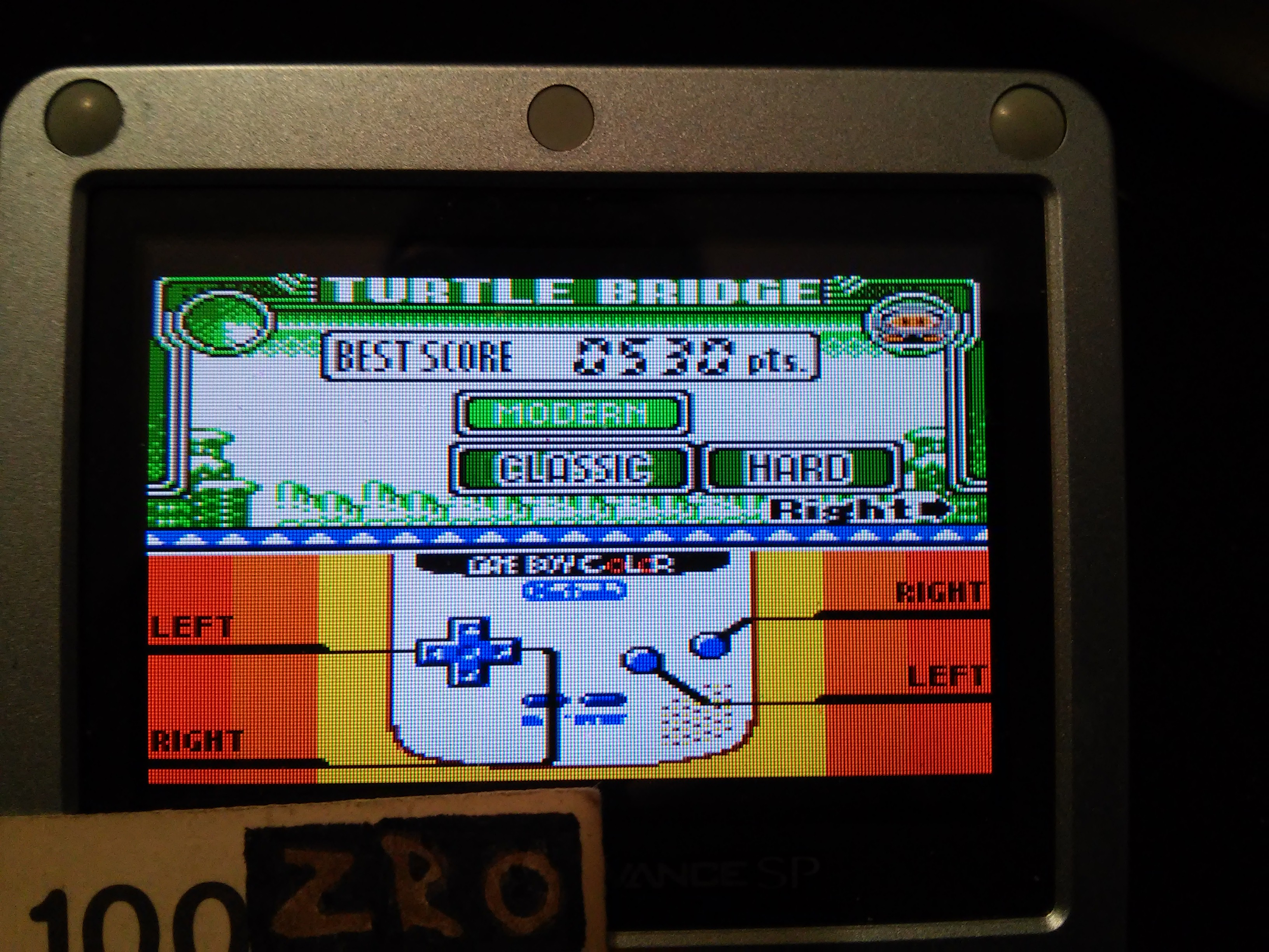 zerooskul: Game & Watch Gallery 3: Turtle Bridge: Classic: Hard (Game Boy Color) 530 points on 2019-02-24 16:50:34