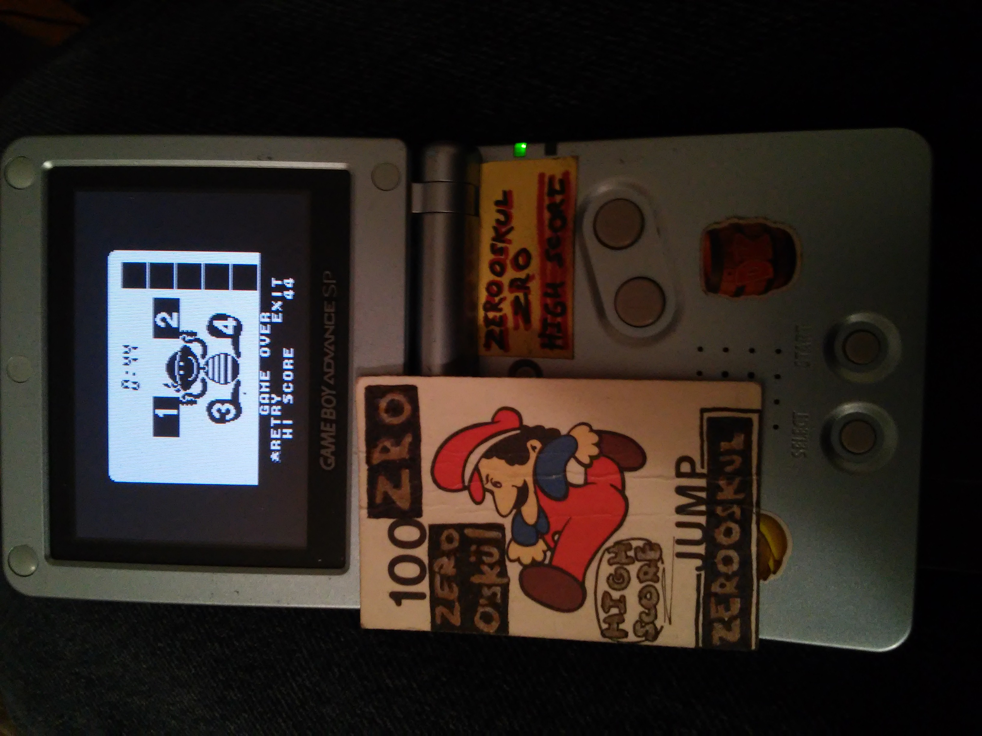 Game & Watch Gallery 3: Flagman [Classic: Game A] 44 points