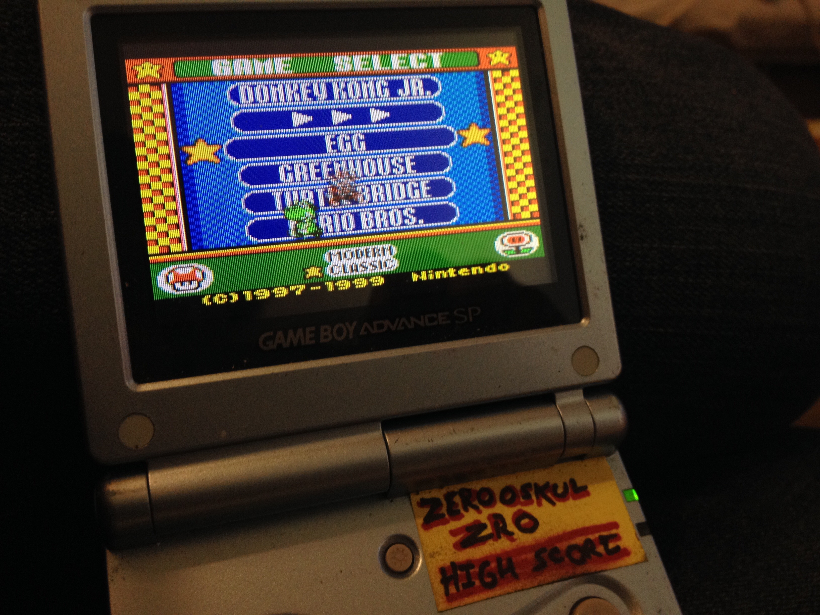 Game & Watch Gallery 3: Egg: Classic: Hard 195 points