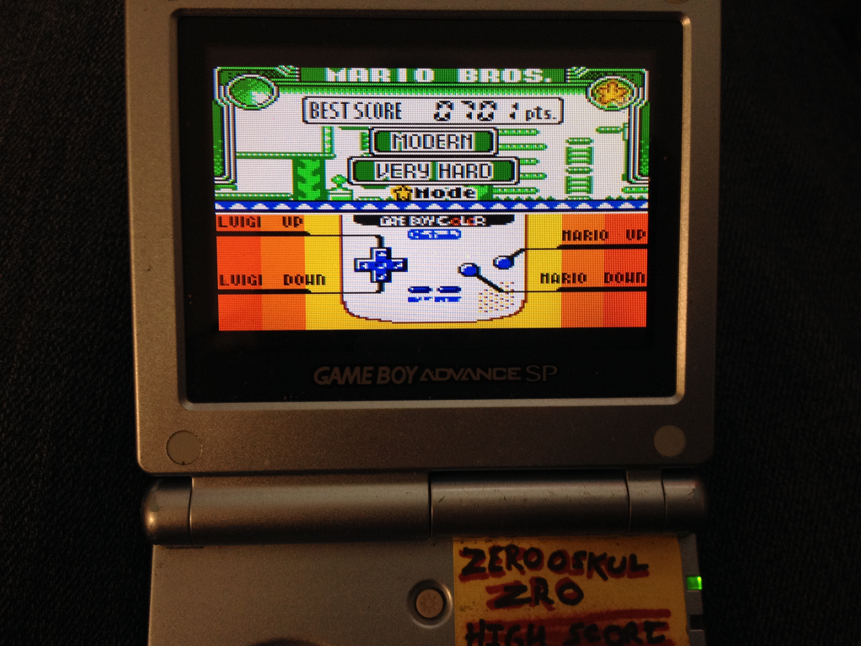 Game & Watch Gallery 3: Mario Bros [Modern: Very Hard] 701 points