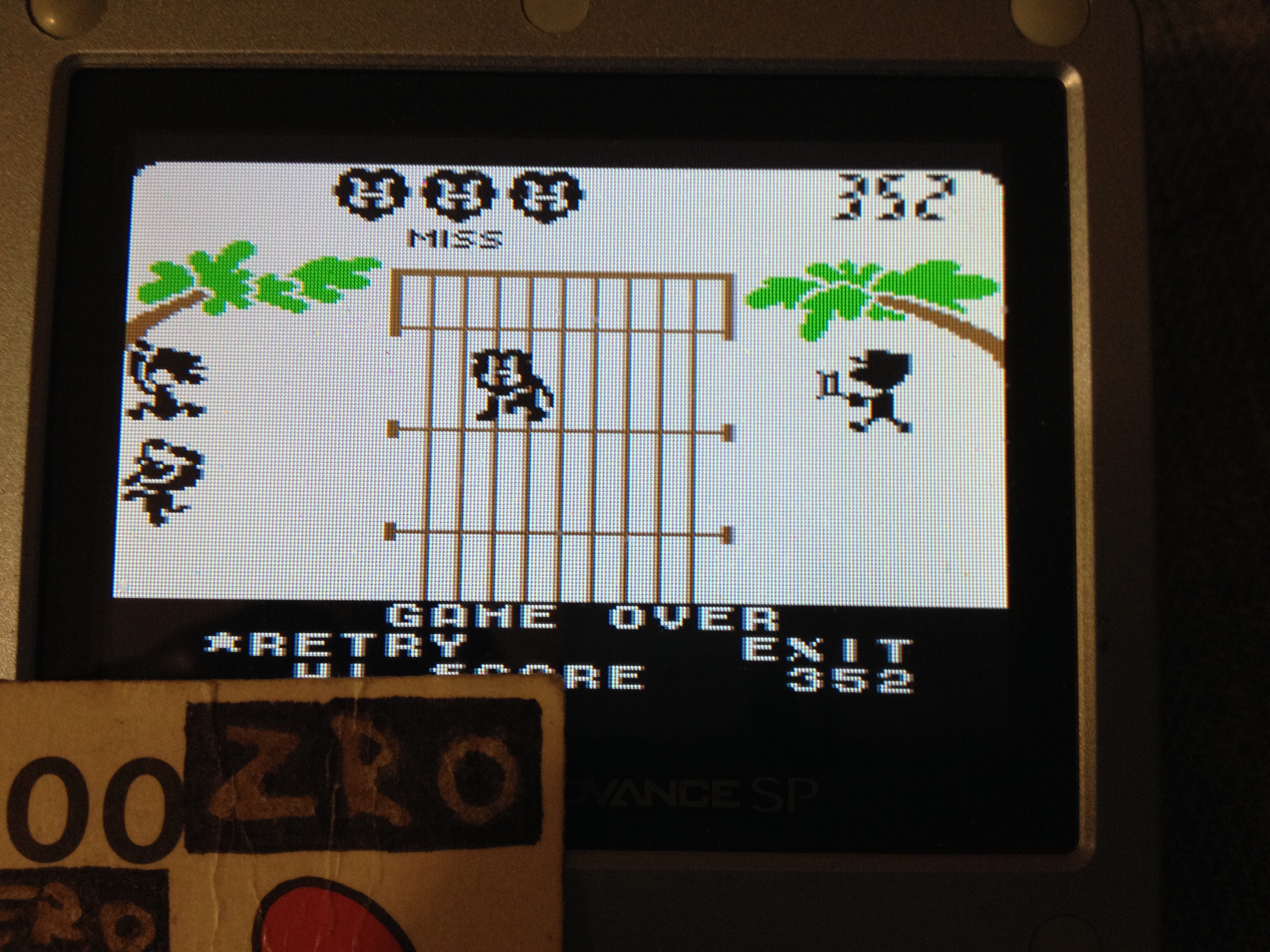 Game & Watch Gallery 3: Lion [Classic: Easy] 352 points