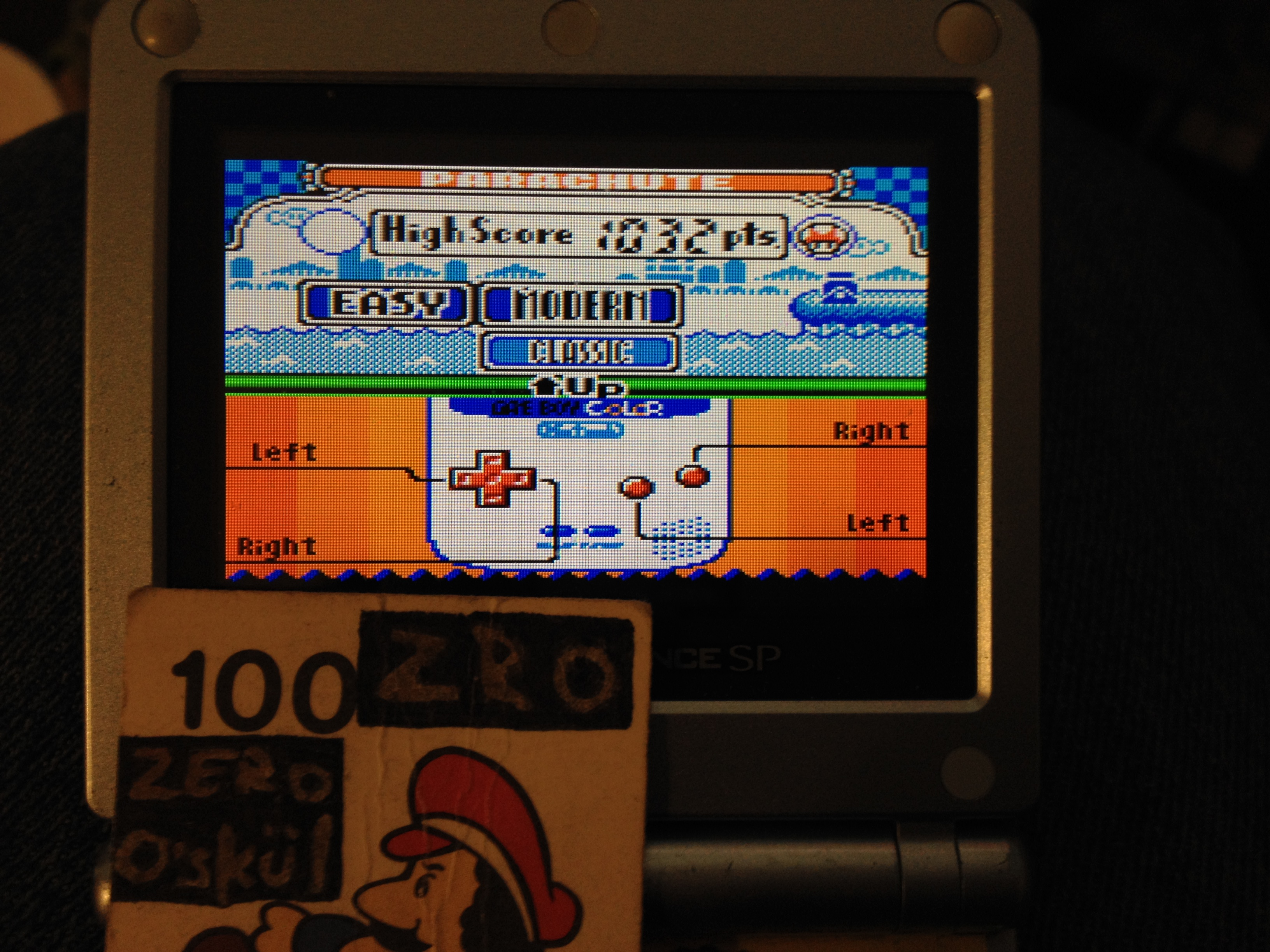 zerooskul: Game & Watch Gallery 2: Parachute: Modern: Easy (Game Boy Color) 1,032 points on 2019-05-31 17:16:40