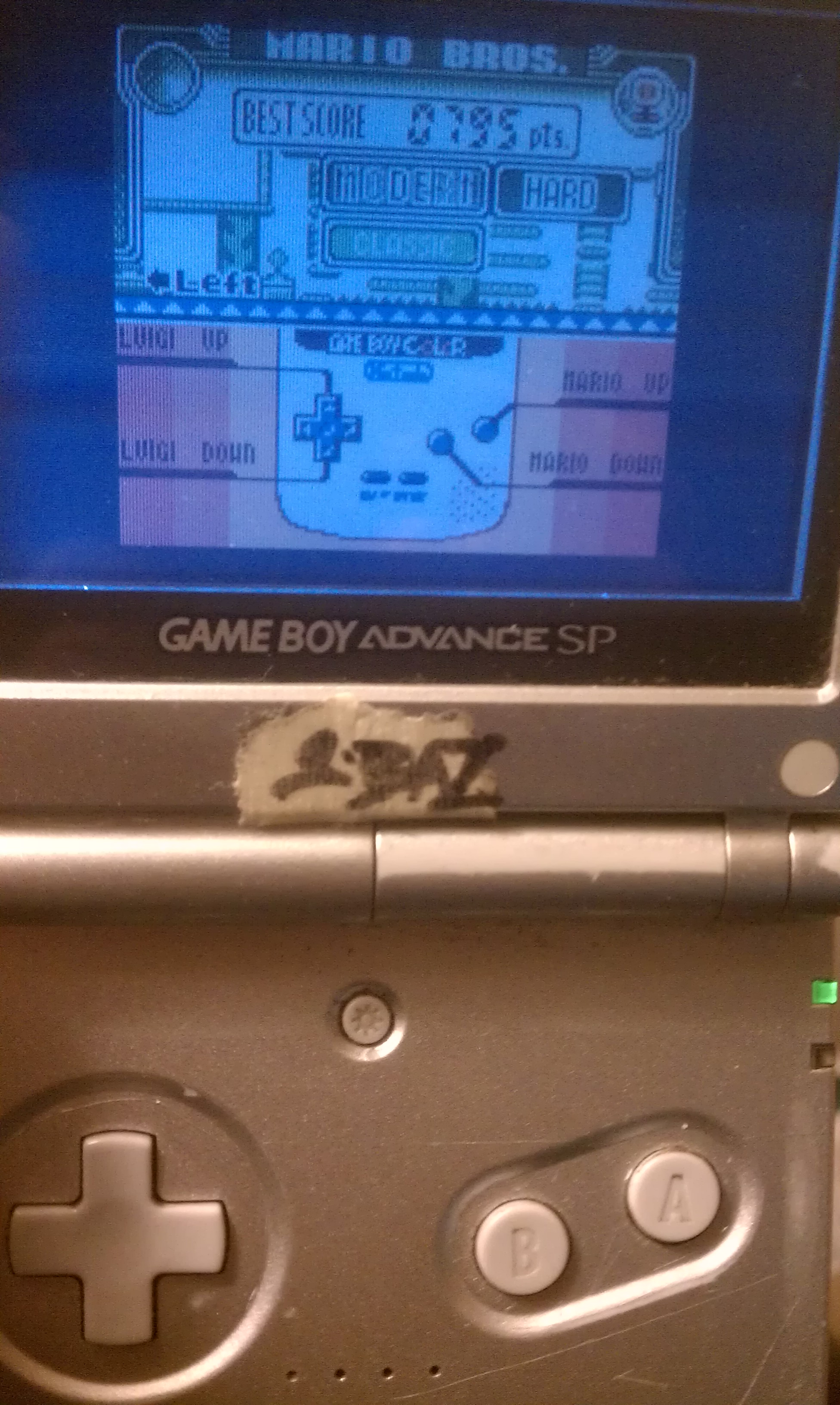 S.BAZ: Game & Watch Gallery 3: Mario Bros: Modern: Hard (Game Boy Color) 795 points on 2019-08-29 15:01:03