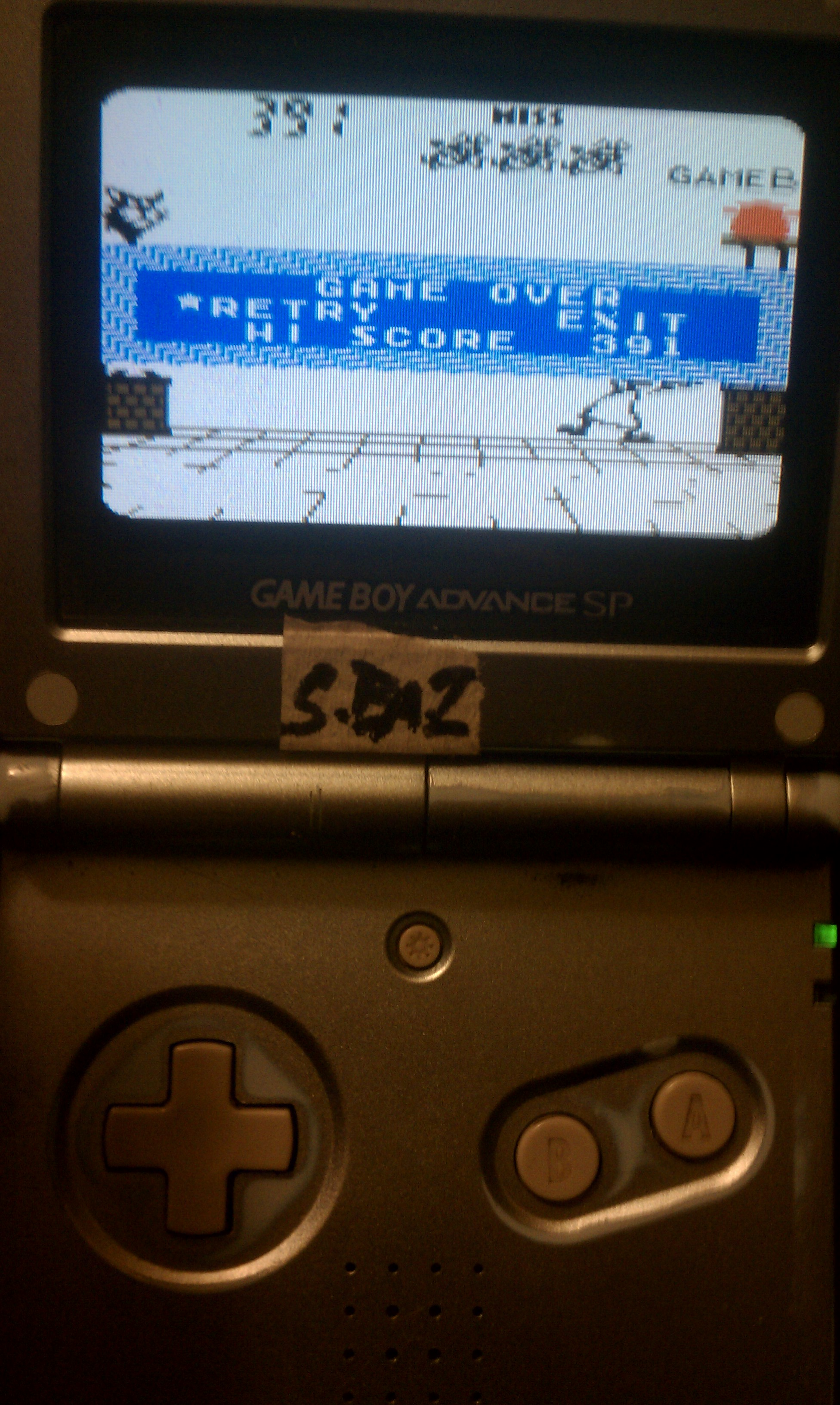 S.BAZ: Game & Watch Gallery 2: Chef: Classic: Hard (Game Boy Color) 391 points on 2020-08-30 19:05:56
