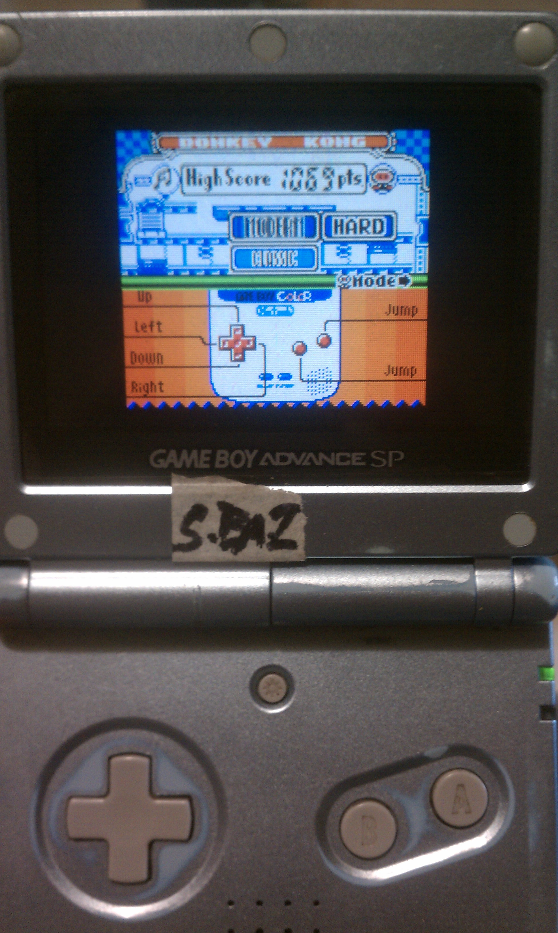 S.BAZ: Game & Watch Gallery 2: Donkey Kong: Modern: Hard (Game Boy Color) 1,069 points on 2020-08-30 19:13:11