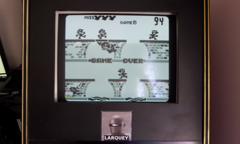 Larquey: Game & Watch Gallery: Manhole [Classic: Hard] (Game Boy Emulated) 94 points on 2018-05-08 09:32:35