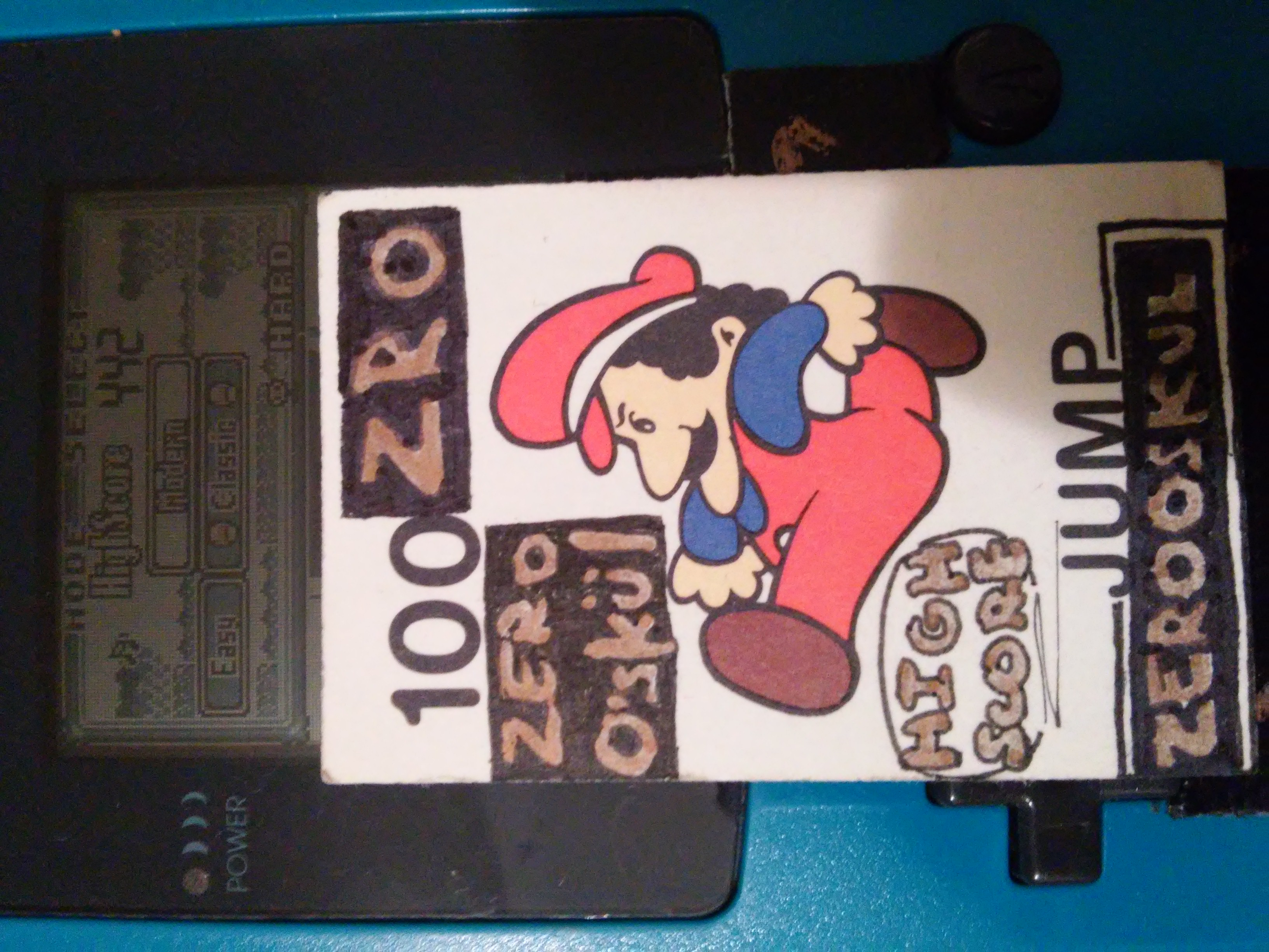 zerooskul: Game & Watch Gallery: Manhole [Classic: Easy] (Game Boy) 442 points on 2019-01-01 05:27:46