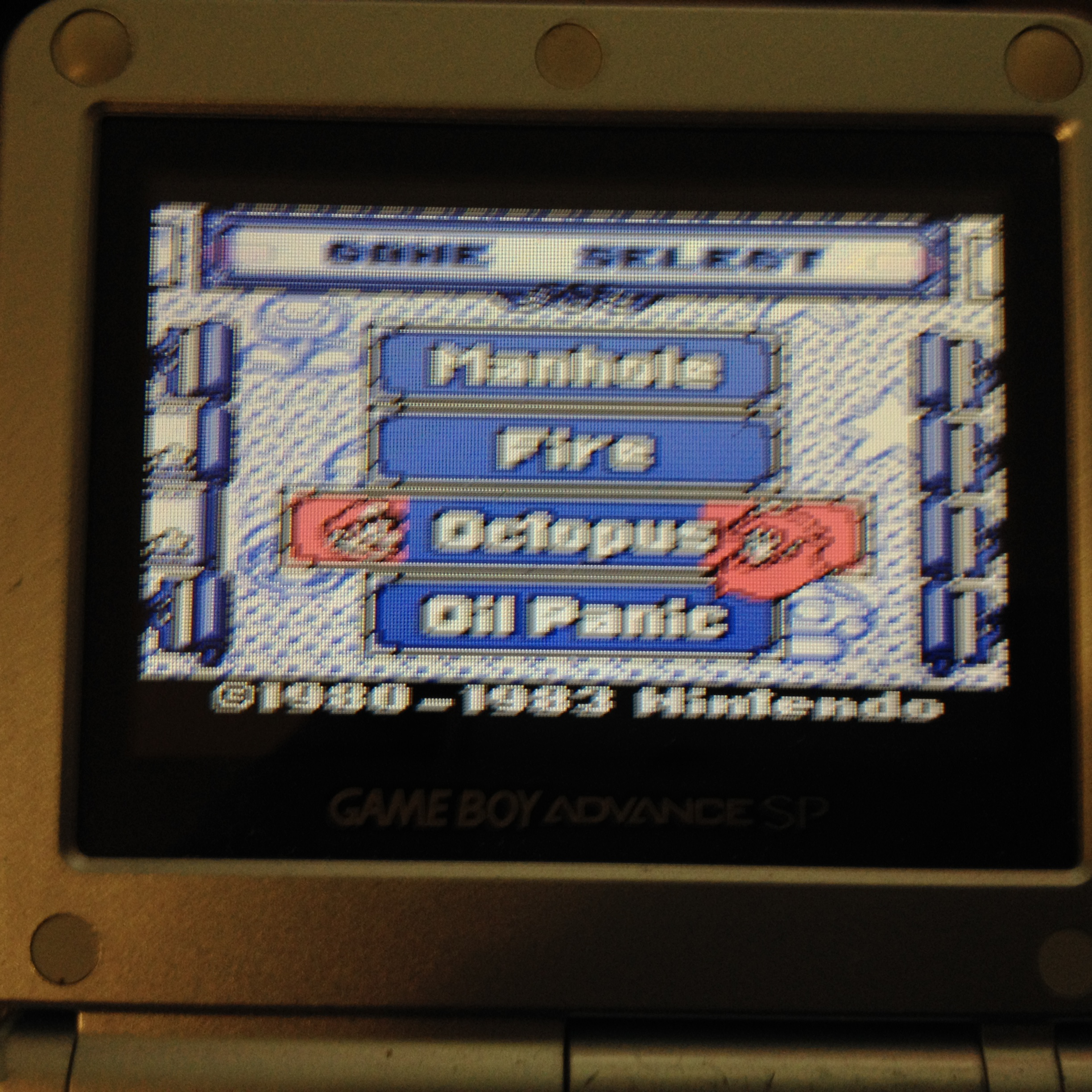zerooskul: Game & Watch Gallery: Octopus [Classic: Easy] (Game Boy) 1,108 points on 2019-05-24 15:06:10