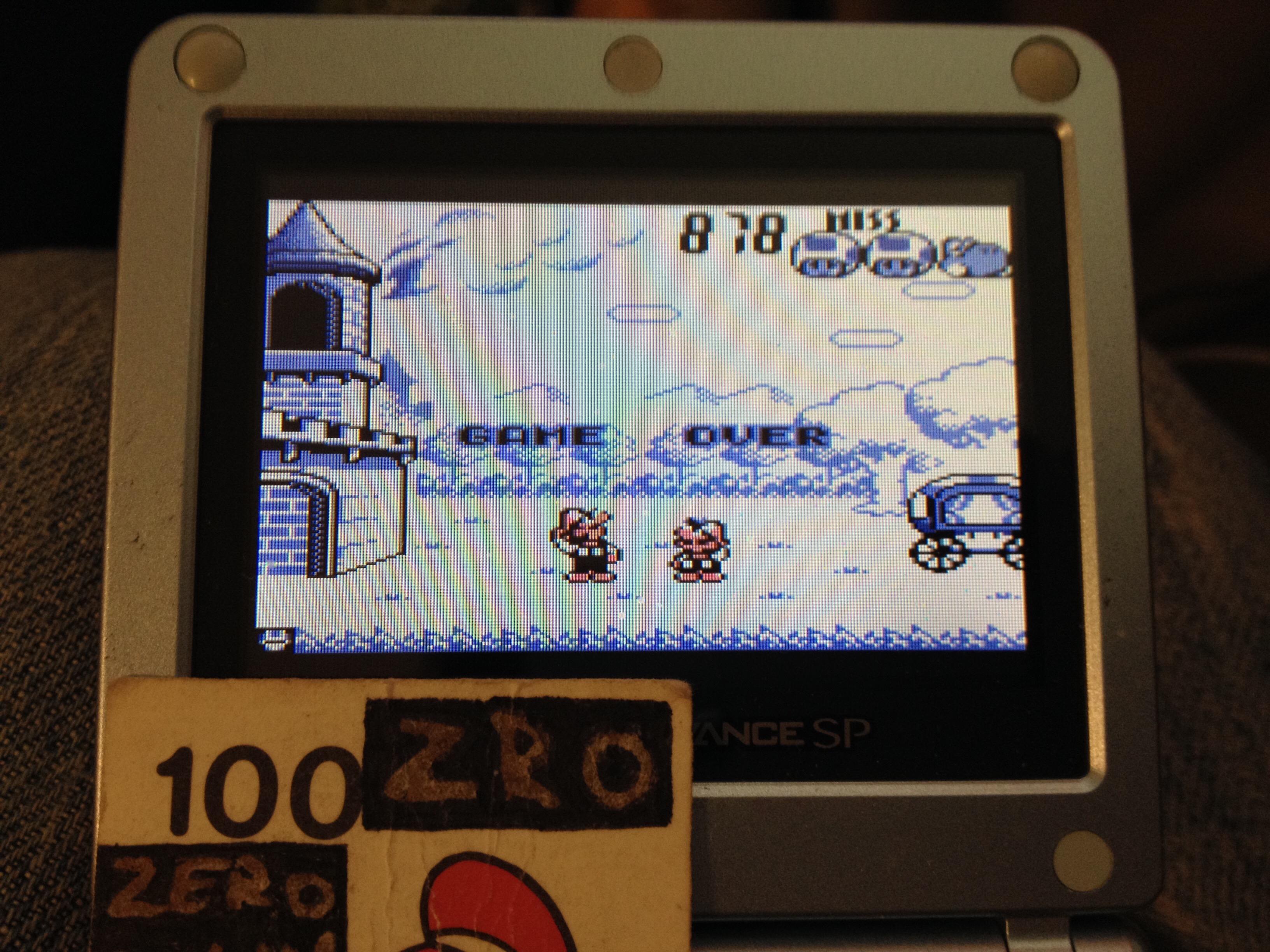 zerooskul: Game & Watch Gallery: Fire [Modern: Easy] (Game Boy) 878 points on 2019-05-29 12:37:58