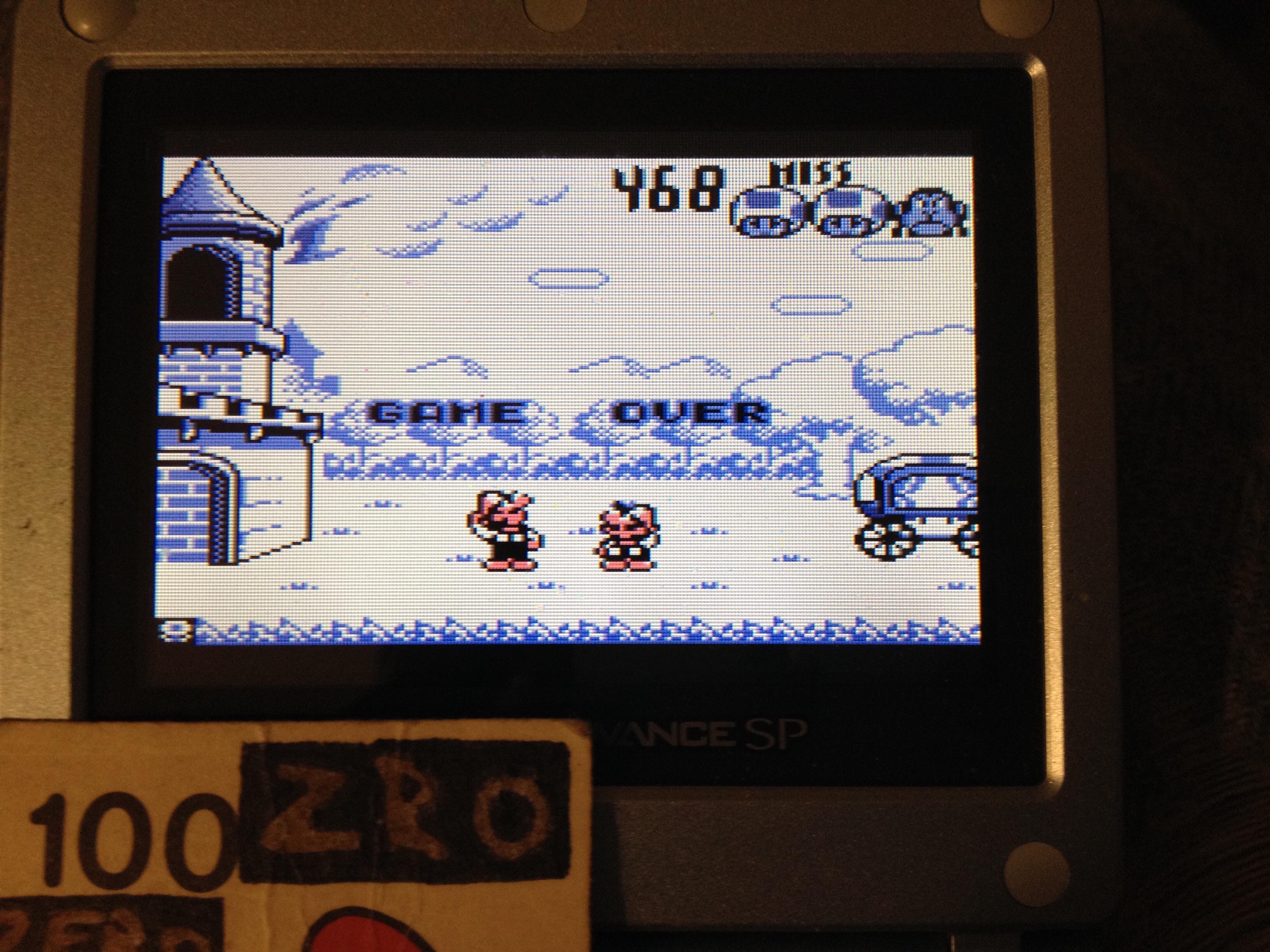 zerooskul: Game & Watch Gallery: Fire [Modern: Hard] (Game Boy) 468 points on 2019-05-30 01:46:12