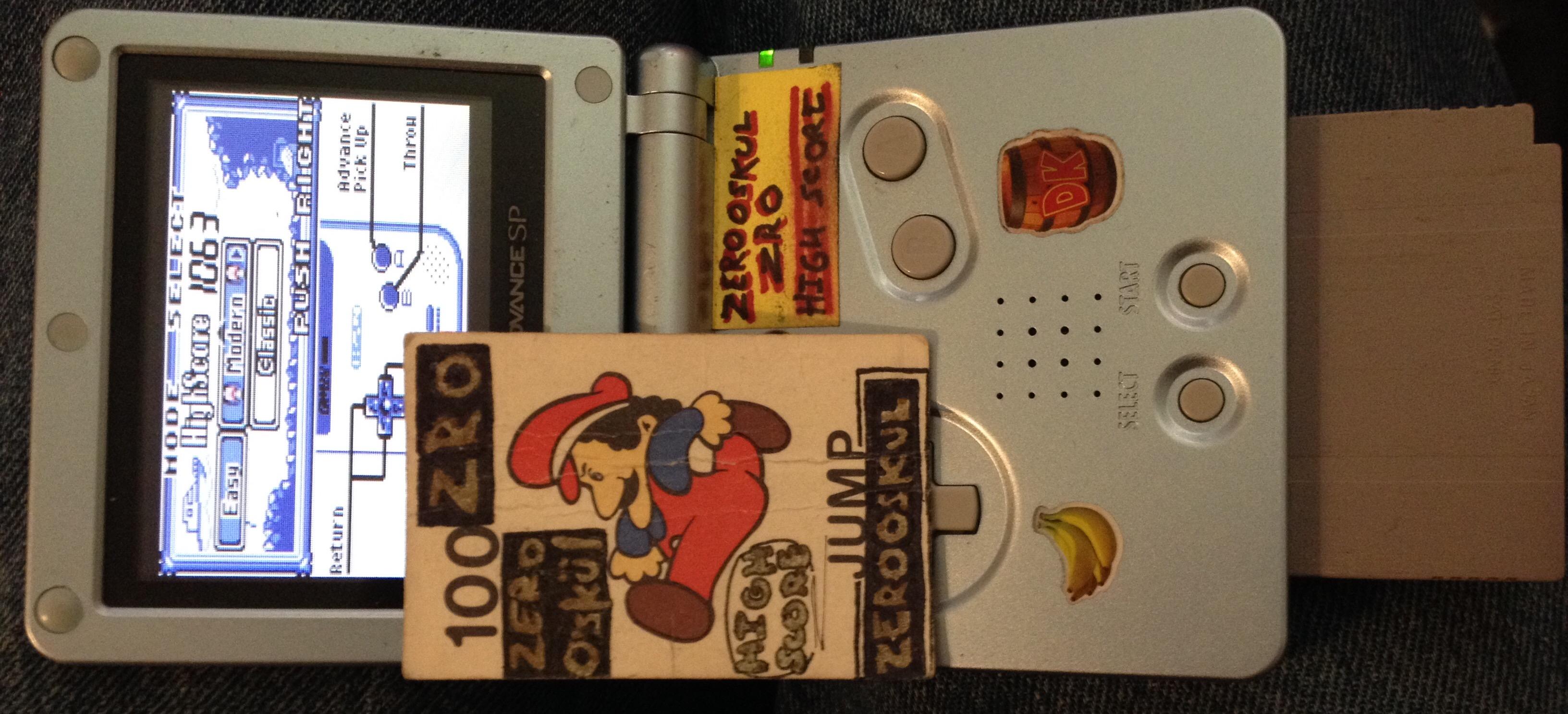 zerooskul: Game & Watch Gallery: Octopus [Modern: Easy] (Game Boy) 1,063 points on 2019-05-31 11:42:36