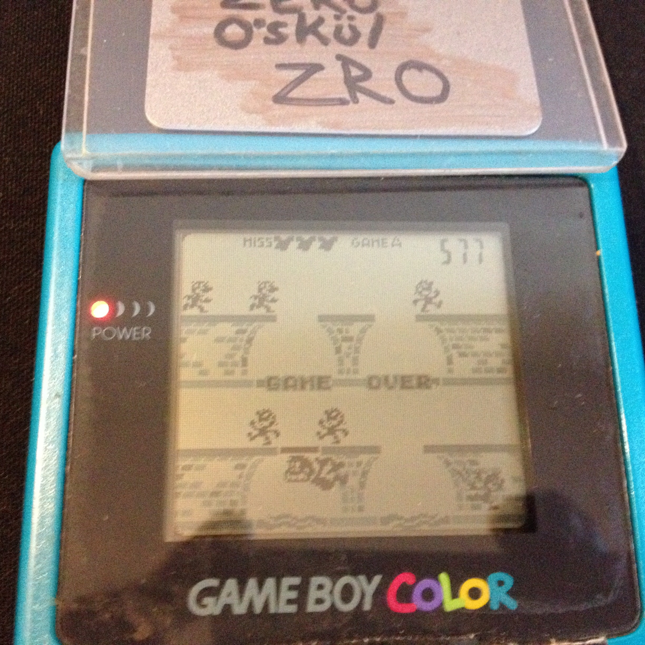 zerooskul: Game & Watch Gallery: Manhole [Classic: Easy] (Game Boy) 577 points on 2019-07-13 11:58:59