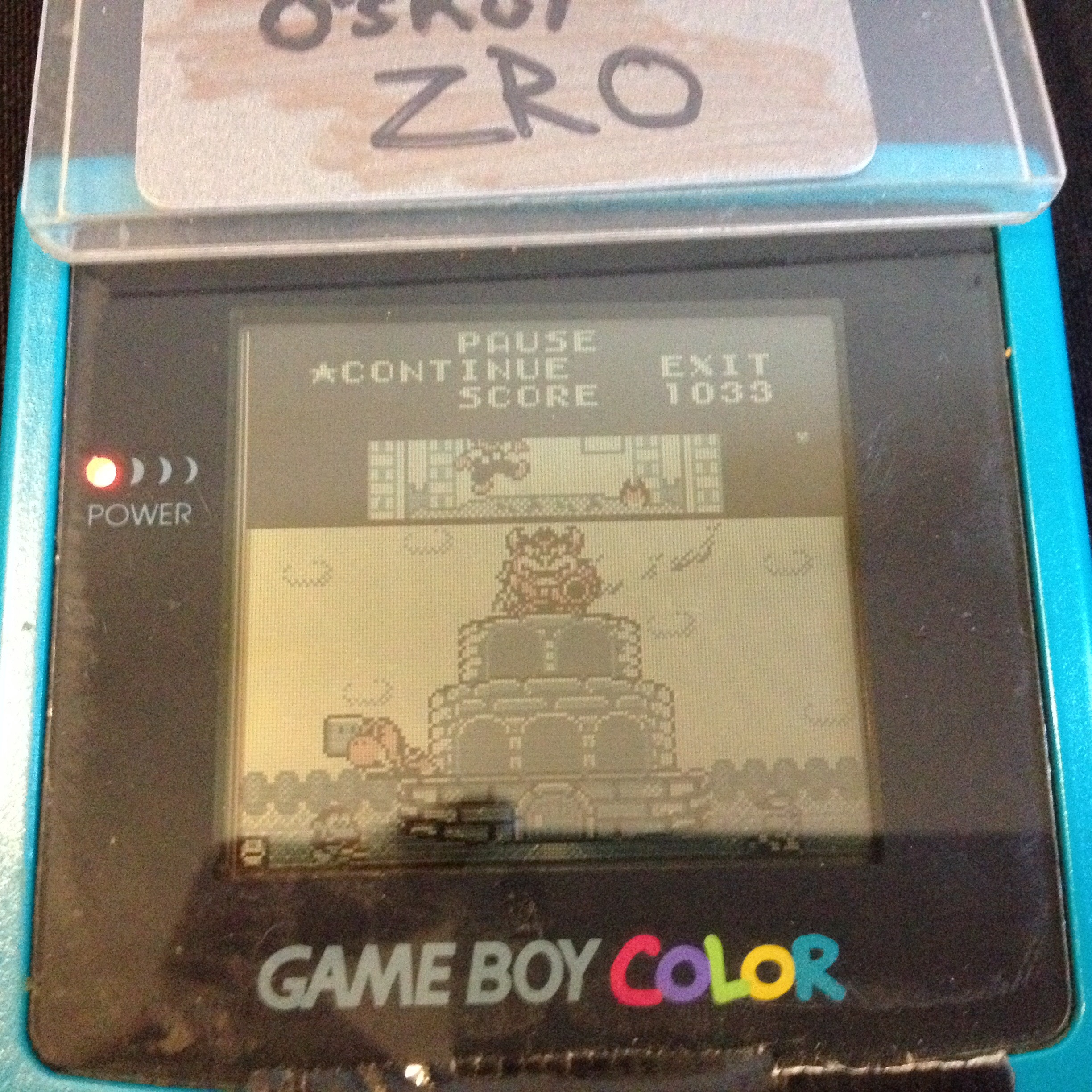 zerooskul: Game & Watch Gallery: Oil Panic [Modern: Easy] (Game Boy) 1,033 points on 2019-07-13 14:41:59