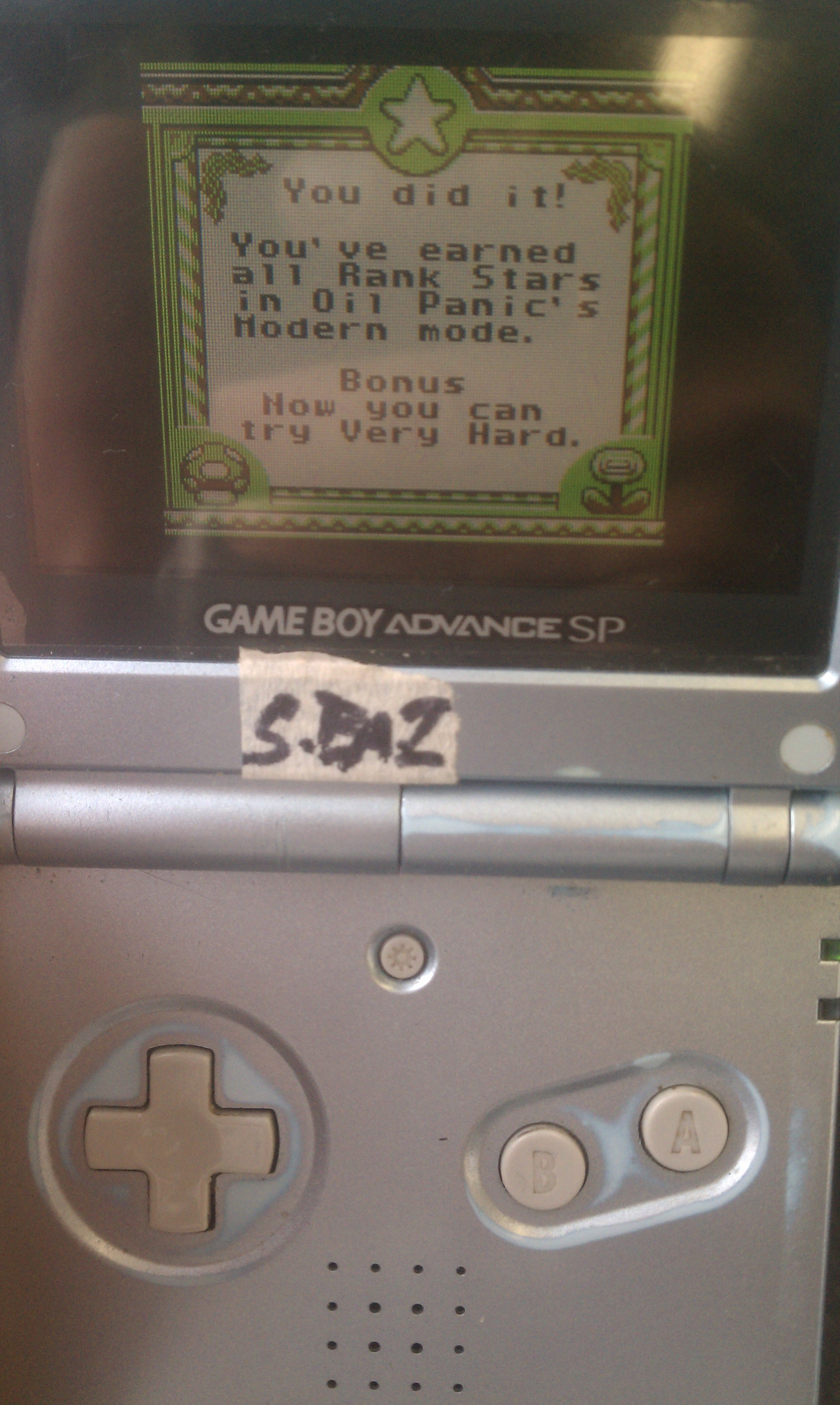 S.BAZ: Game & Watch Gallery: Oil Panic [Modern: Easy] (Game Boy) 1,093 points on 2020-08-02 19:01:39