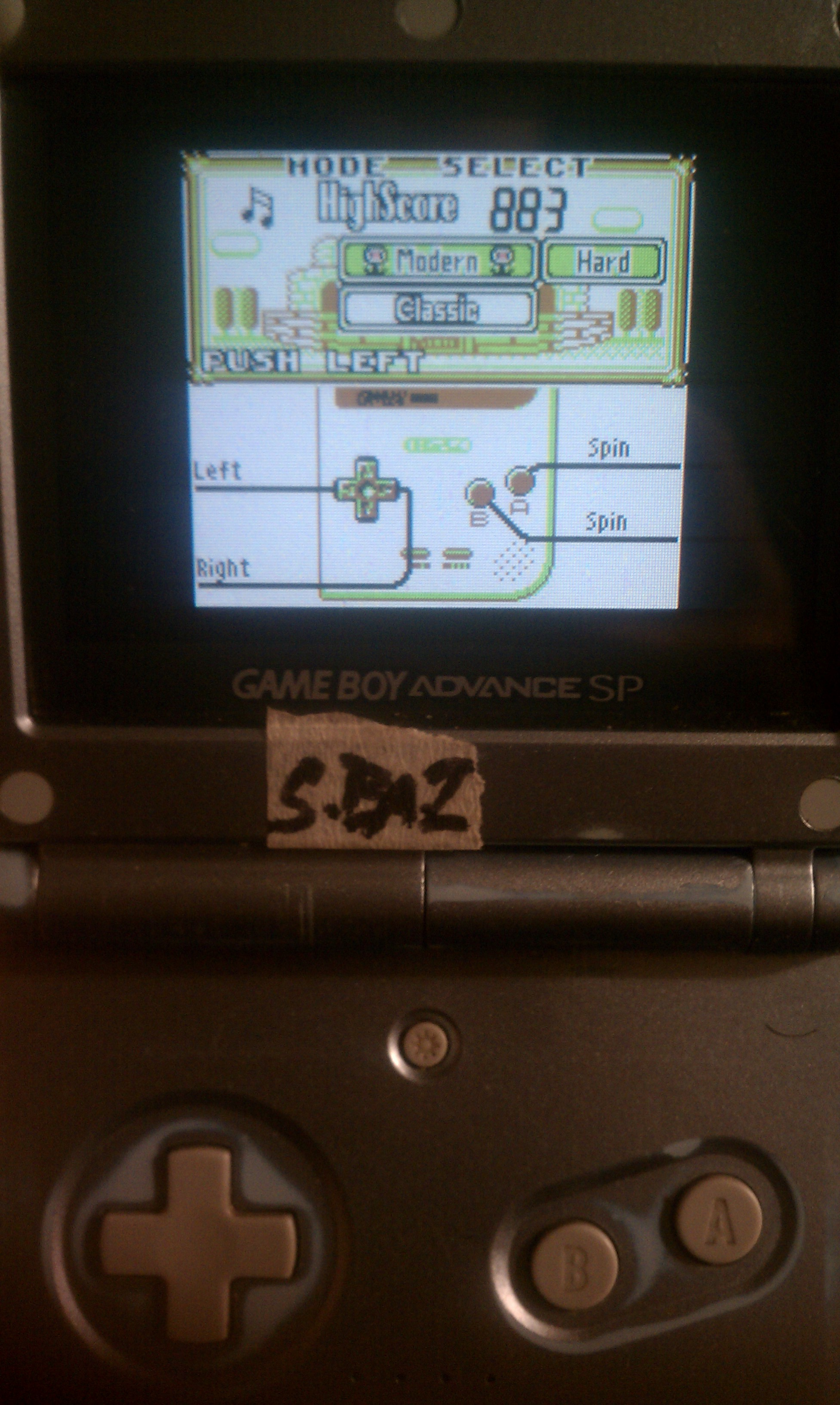 S.BAZ: Game & Watch Gallery: Oil Panic [Modern: Hard] (Game Boy) 883 points on 2020-08-02 19:03:56