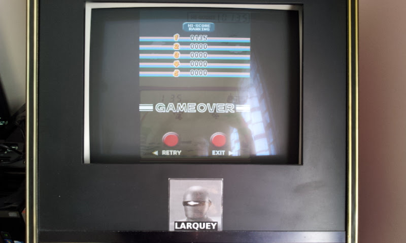 Larquey: Game & Watch Collection 2: Parachute [Game A] (Nintendo DS Emulated) 135 points on 2018-05-05 09:53:25