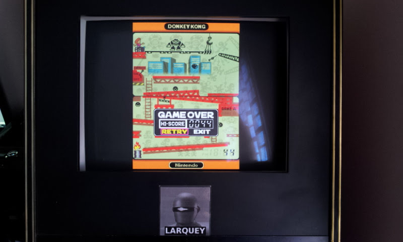 Larquey: Game & Watch Collection : Donkey kong [Game A] (Nintendo DS Emulated) 44 points on 2018-05-05 11:56:29