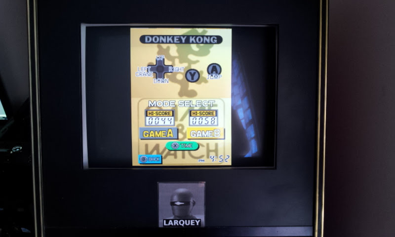 Larquey: Game & Watch Collection: Donkey Kong [Game B] (Nintendo DS Emulated) 58 points on 2018-05-05 11:57:00
