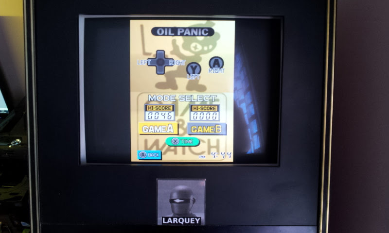 Larquey: Game & Watch Collection: Oil Panic [Game A] (Nintendo DS Emulated) 46 points on 2018-05-05 11:59:28