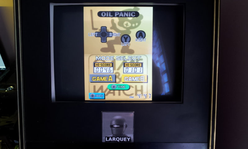 Larquey: Game & Watch Collection: Oil Panic [Game B] (Nintendo DS Emulated) 101 points on 2018-05-05 11:59:52