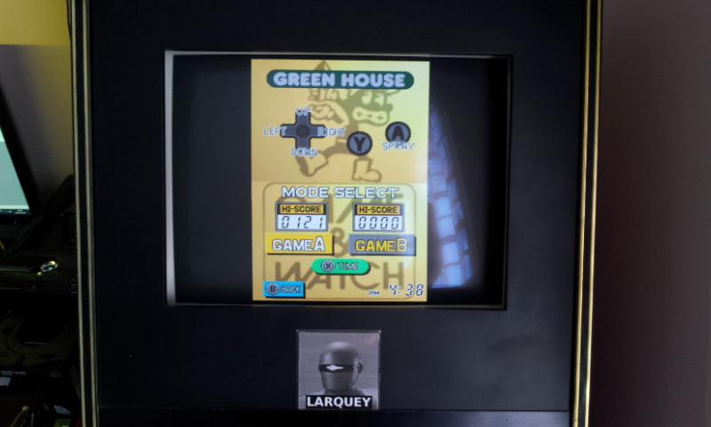 Larquey: Game & Watch Collection: Green House [Game A] (Nintendo DS Emulated) 121 points on 2018-05-05 12:01:49