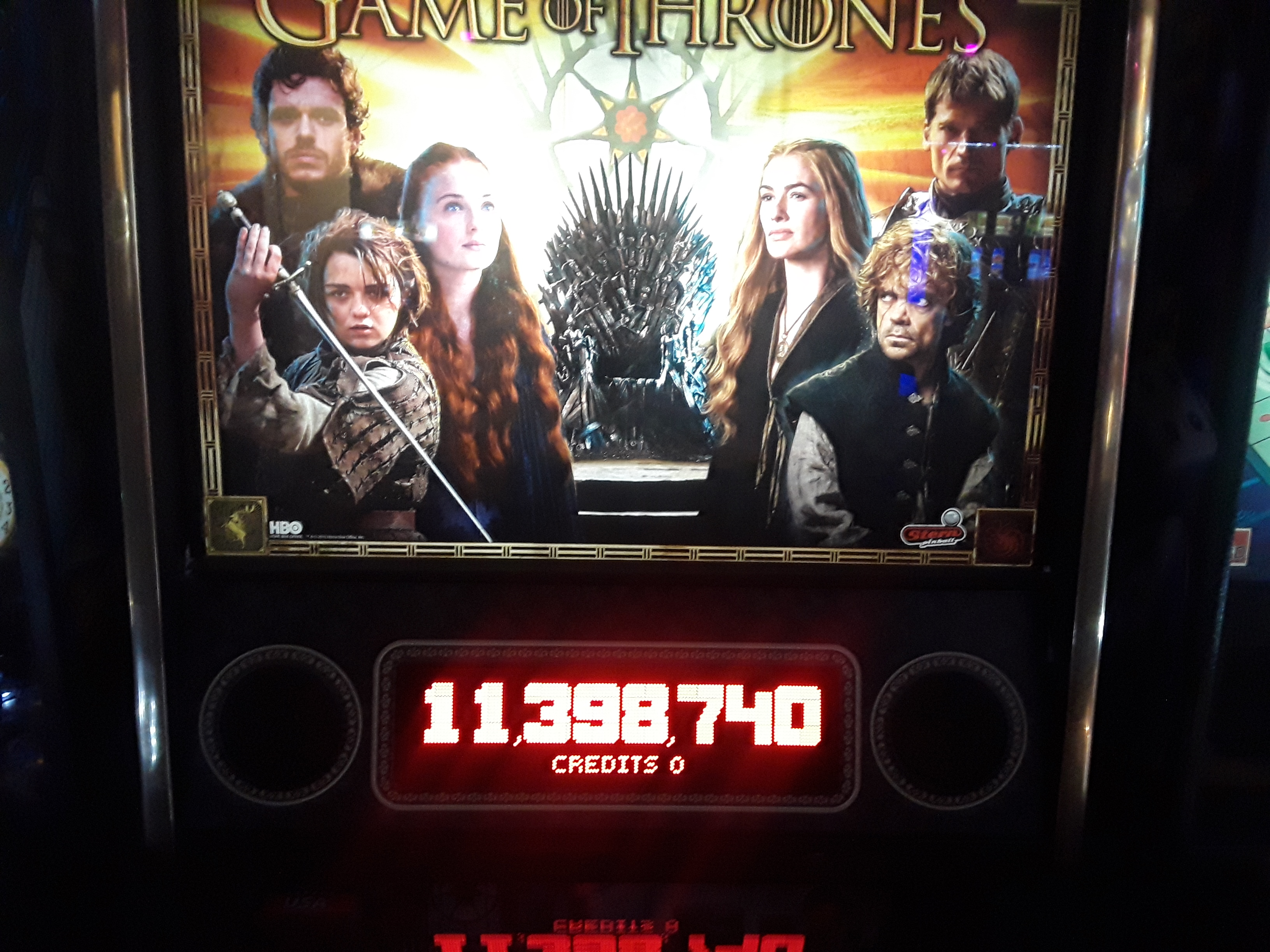 Game Of Thrones 11,398,740 points