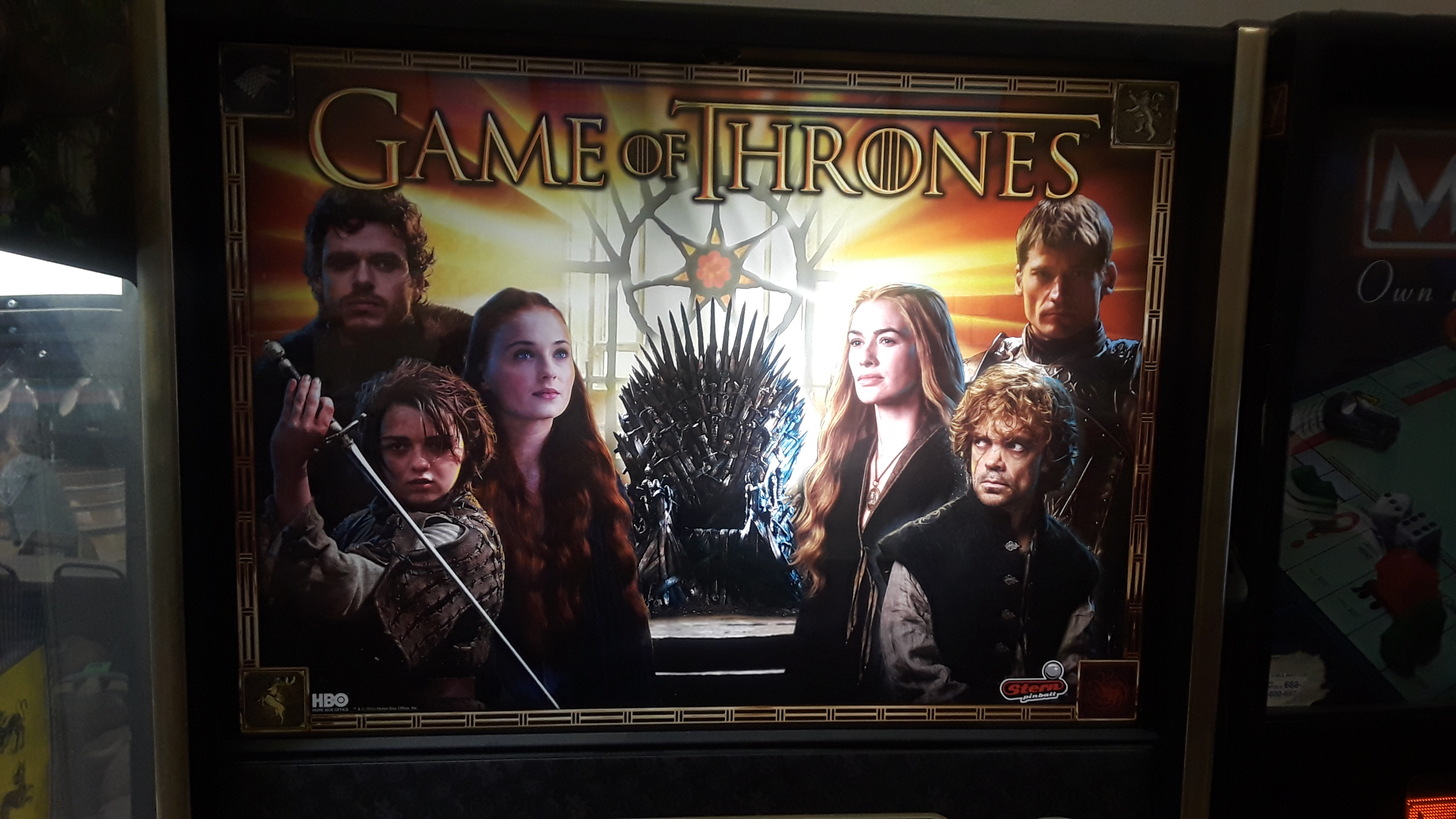 JML101582: Game Of Thrones (Pinball: 3 Balls) 22,136,080 points on 2020-02-21 15:32:22