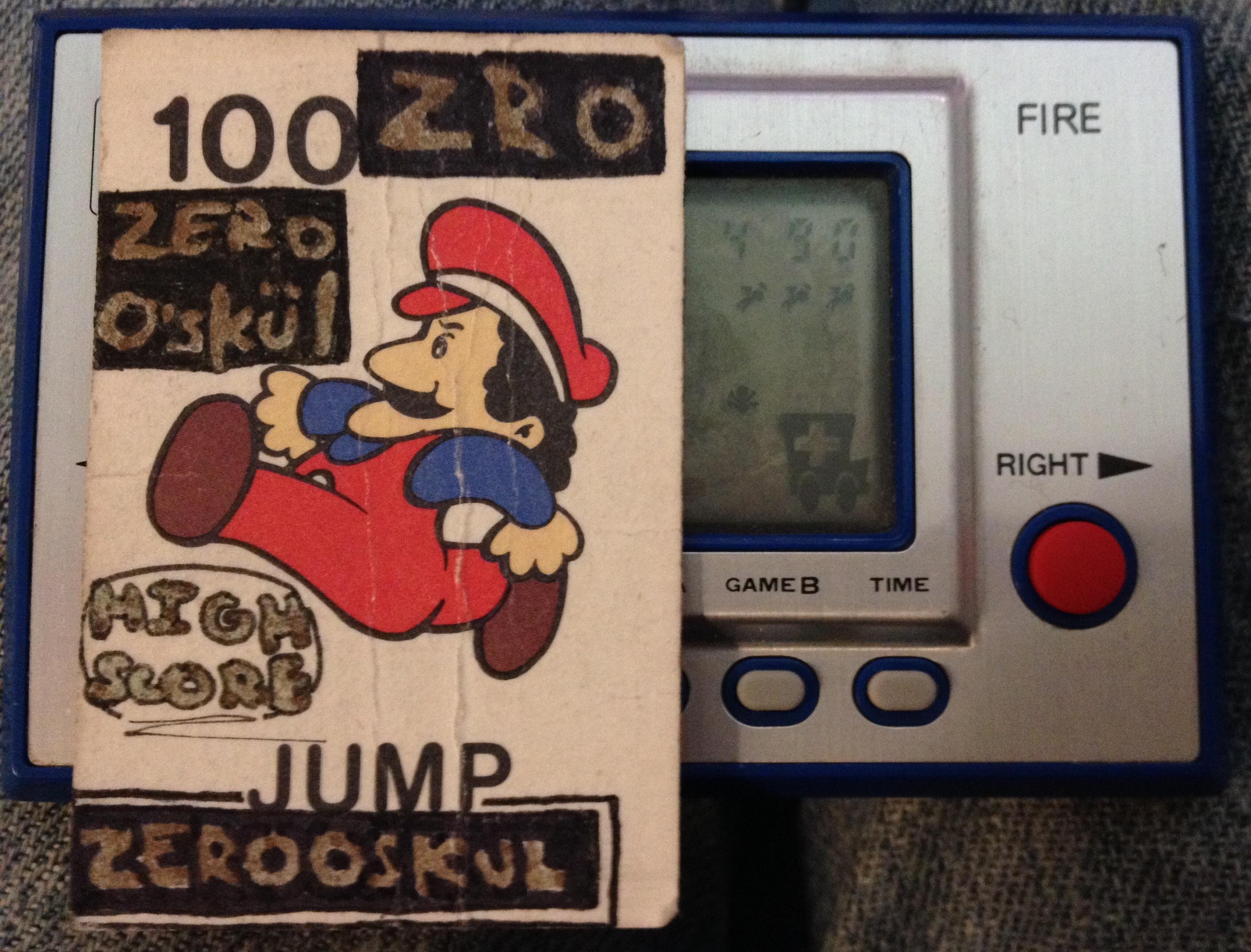Game & Watch: Fire [aka Fireman Fireman] [Game A] 490 points