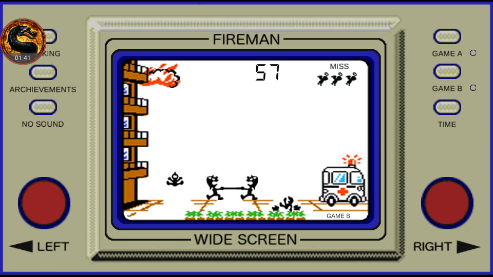 omargeddon: Game & Watch: Fire [aka Fireman Fireman] [Game B] (Dedicated Handheld Emulated) 57 points on 2018-08-23 13:23:50