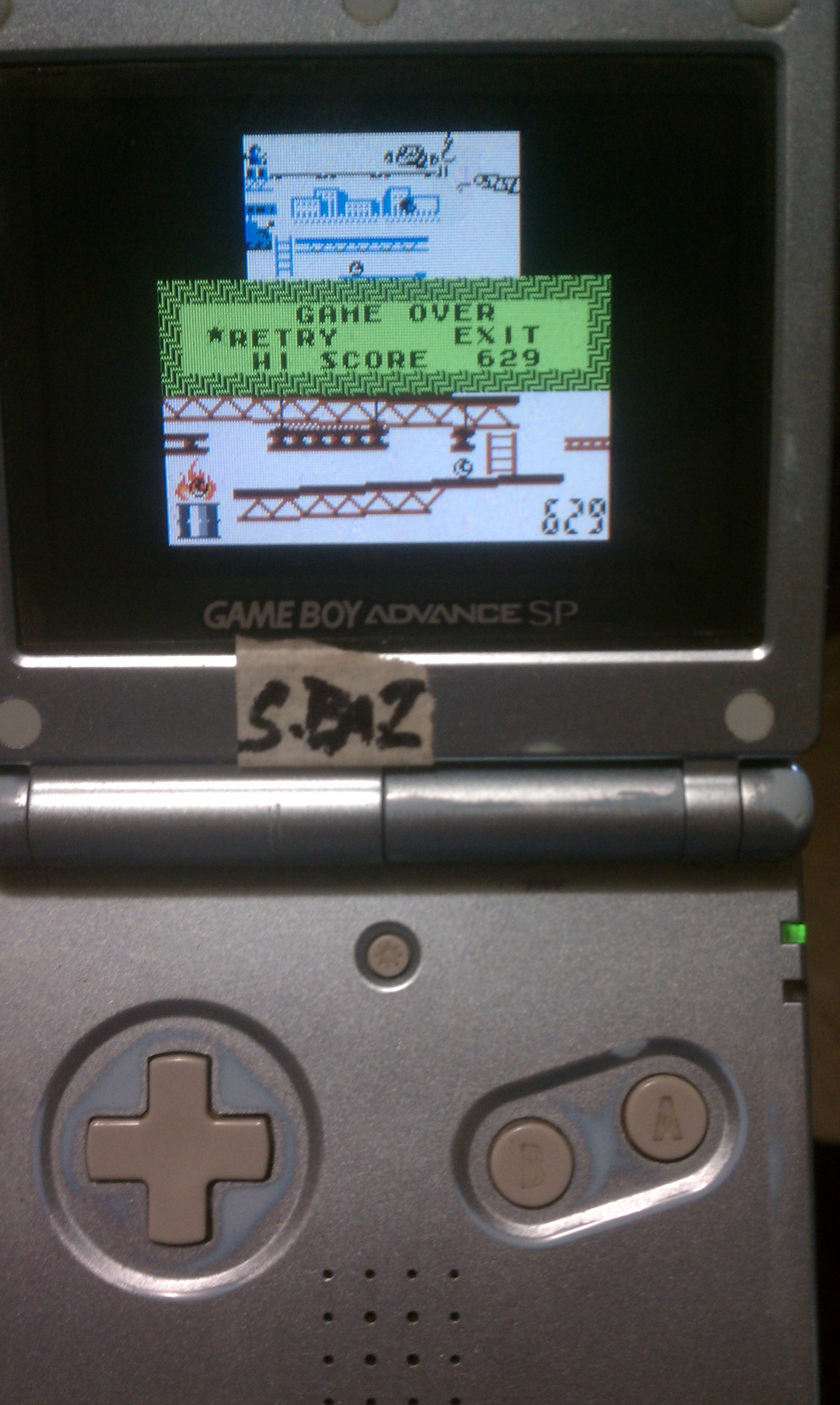 S.BAZ: Game & Watch Gallery 2: Donkey Kong: Classic: Easy (Game Boy Color) 629 points on 2016-02-01 02:49:00