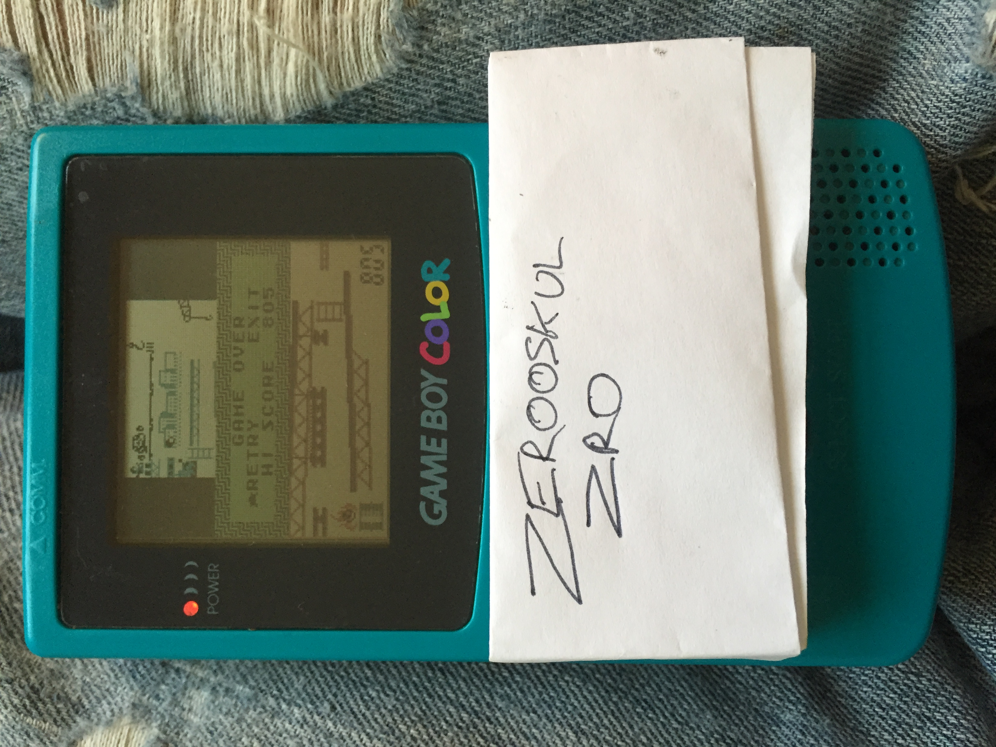 zerooskul: Game & Watch Gallery 2: Donkey Kong: Classic: Hard (Game Boy Color) 805 points on 2018-05-25 11:00:19
