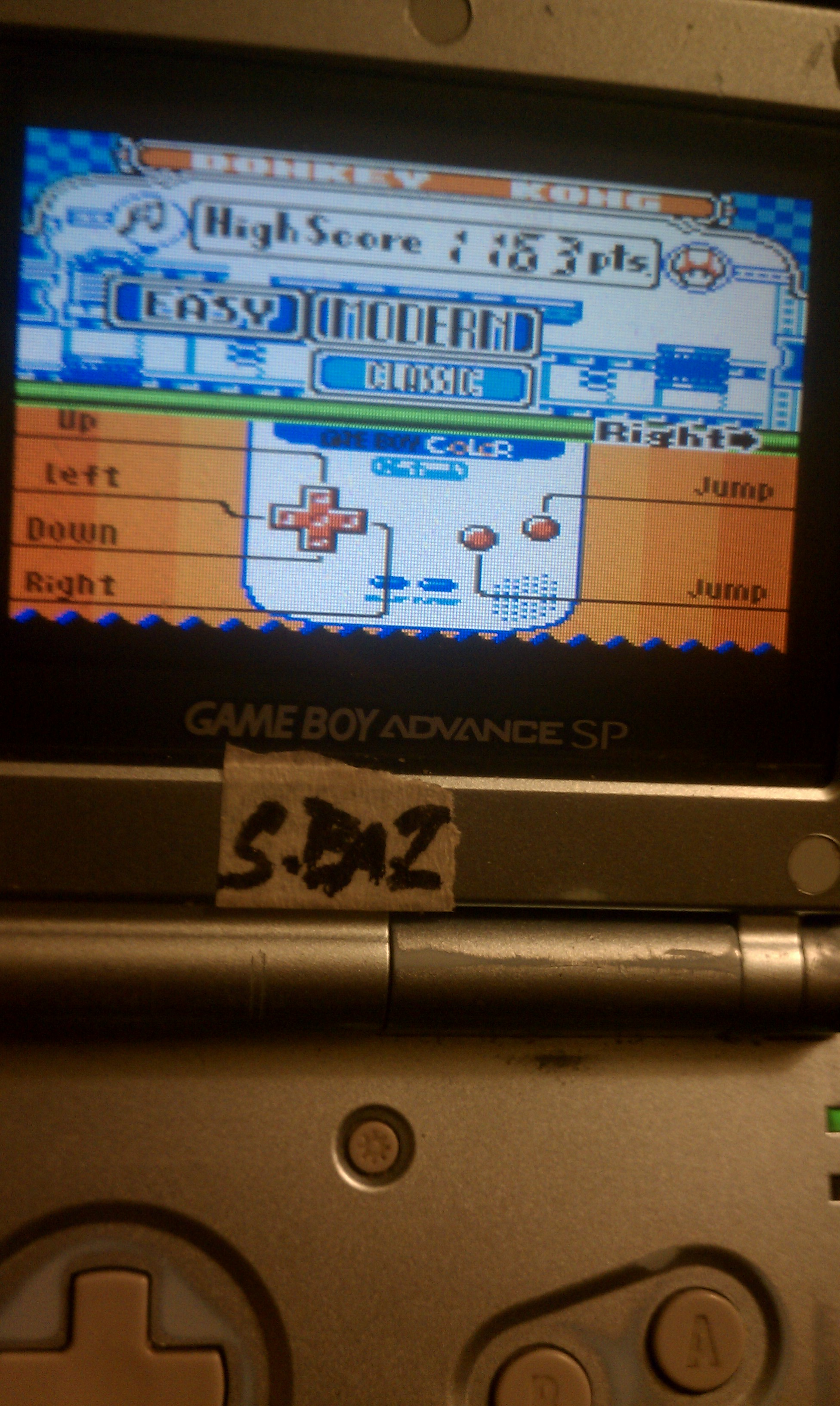S.BAZ: Game & Watch Gallery 2: Donkey Kong: Modern: Easy (Game Boy Color) 1,163 points on 2016-06-25 15:22:22