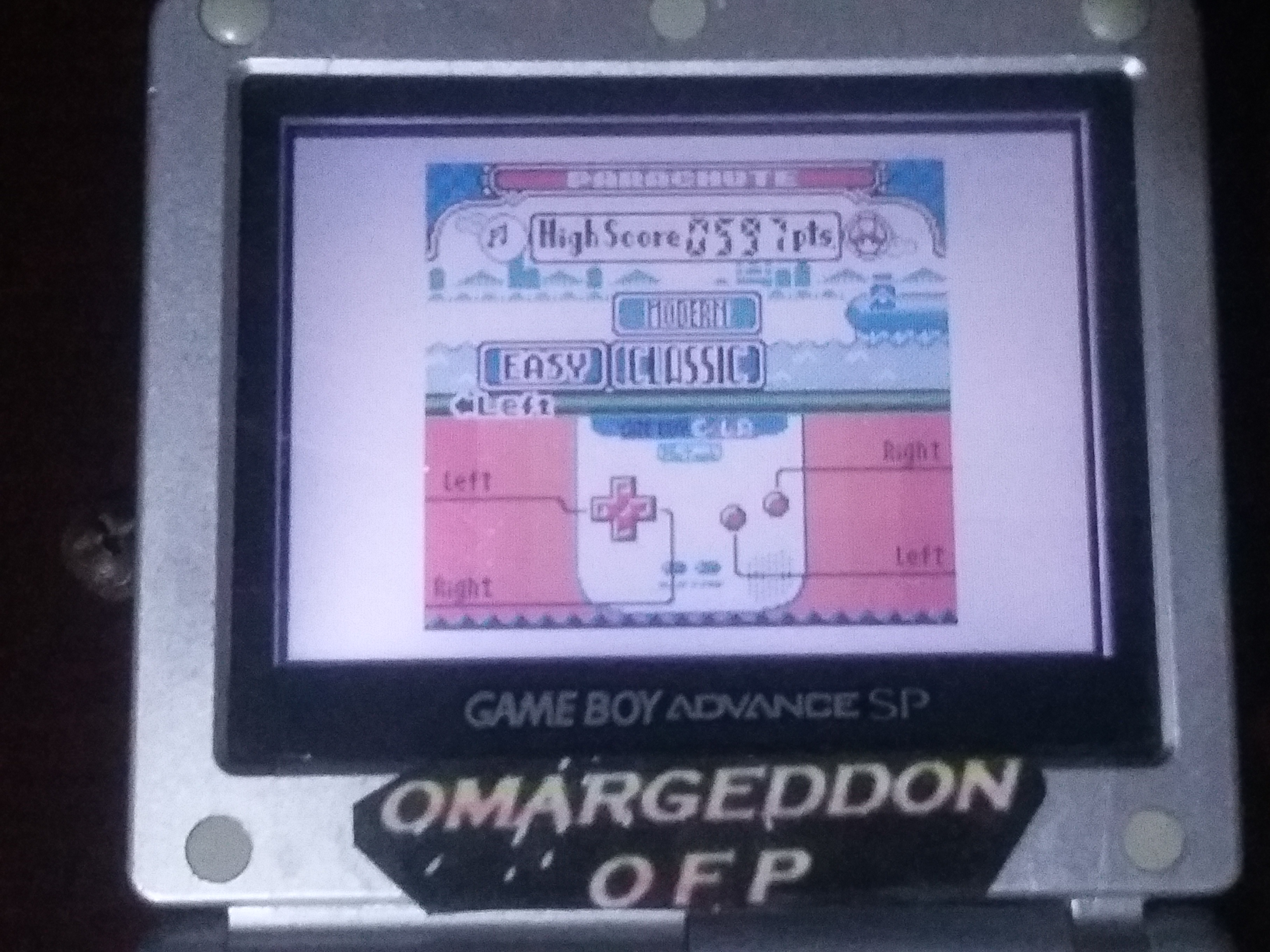 omargeddon: Game & Watch Gallery 2: Parachute: Classic: Easy (Game Boy Color) 597 points on 2018-01-06 23:16:04