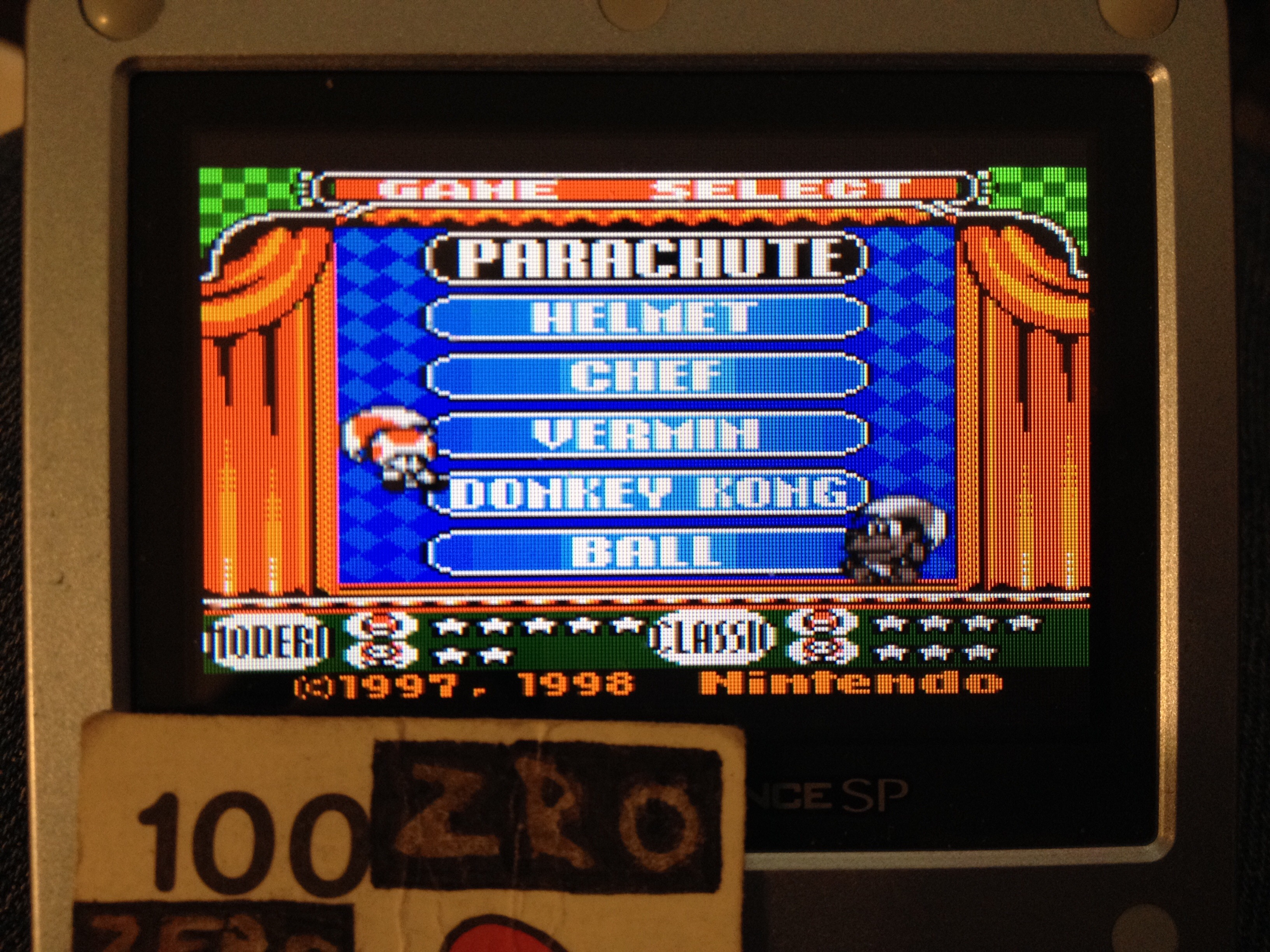 Game & Watch Gallery 2: Parachute: Modern: Easy 1,032 points