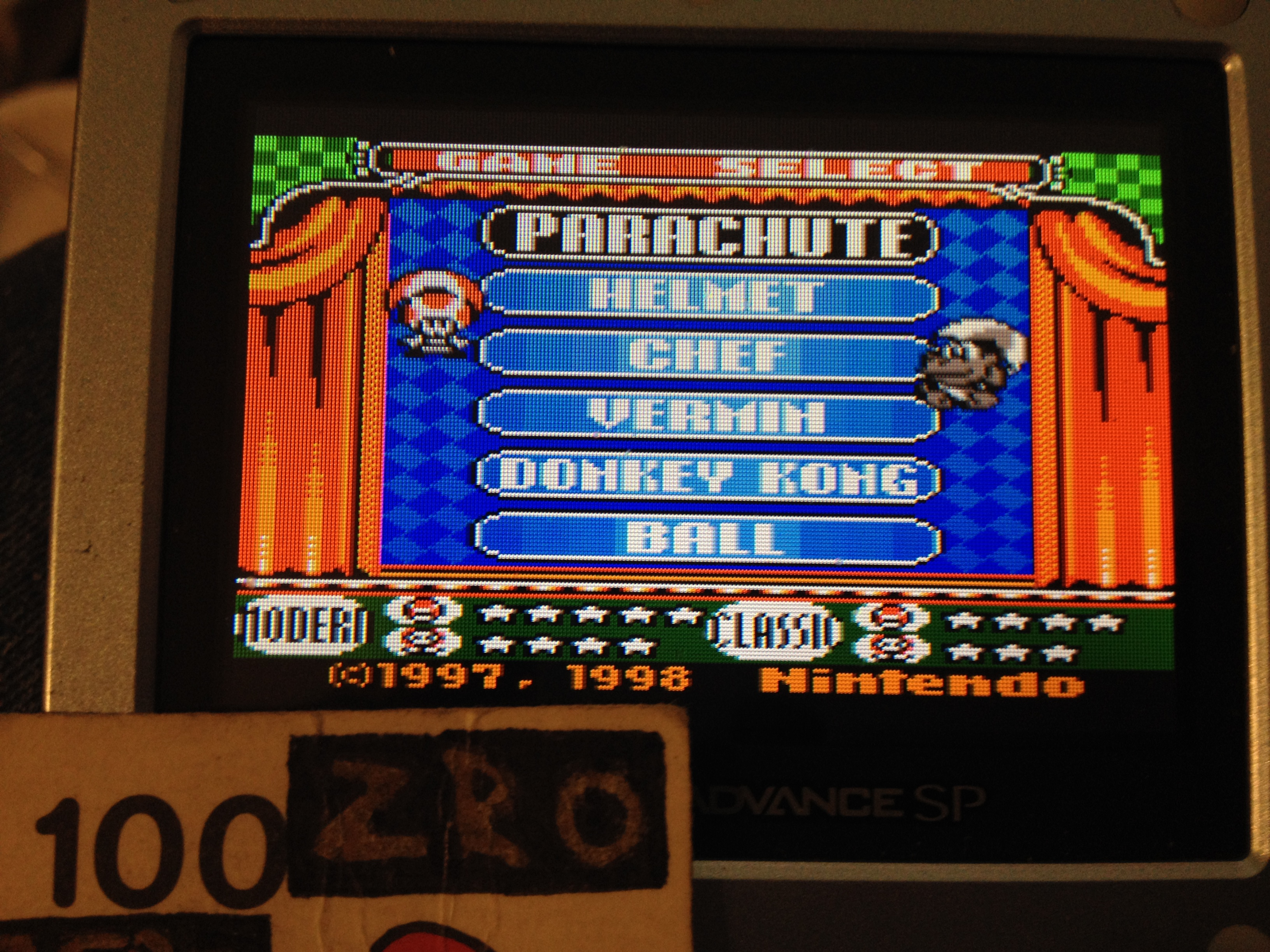 Game & Watch Gallery 2: Parachute: Modern: Hard 908 points